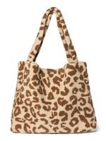 Studio Noos Mom Bag - Teddy Leopard Ecru