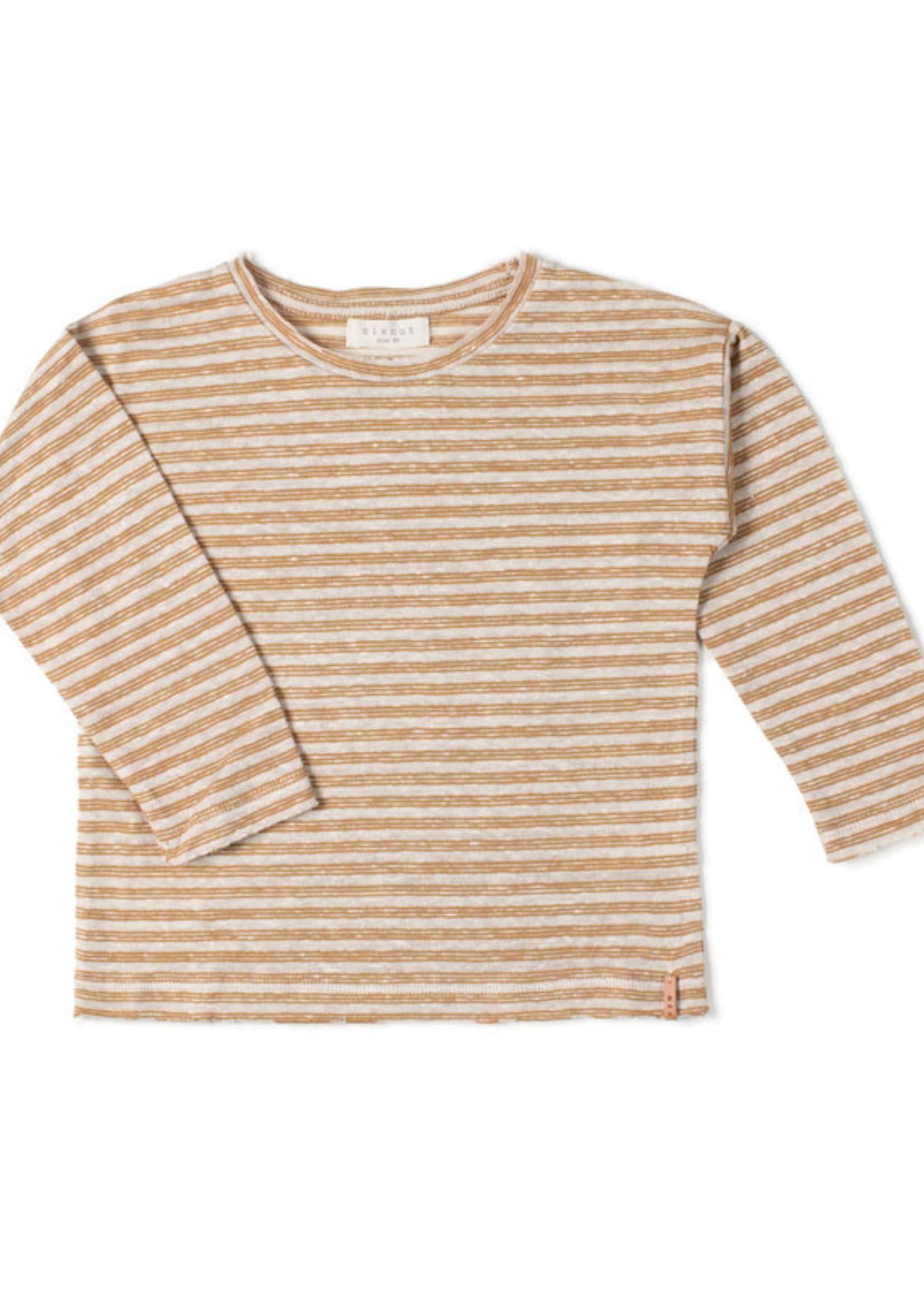 Nixnut Longsleeve Stripe - Caramel