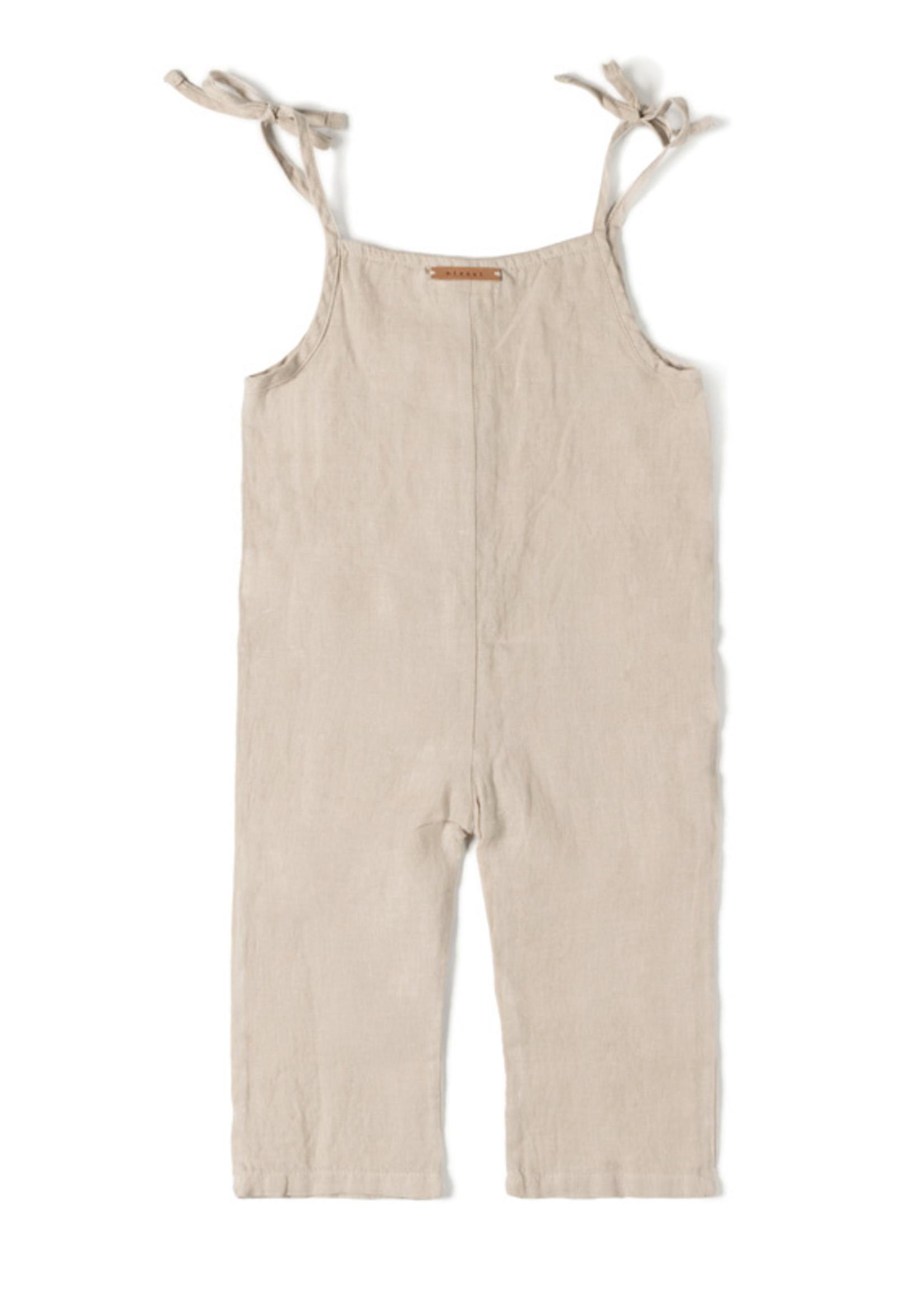Nixnut Button Suit - Sand