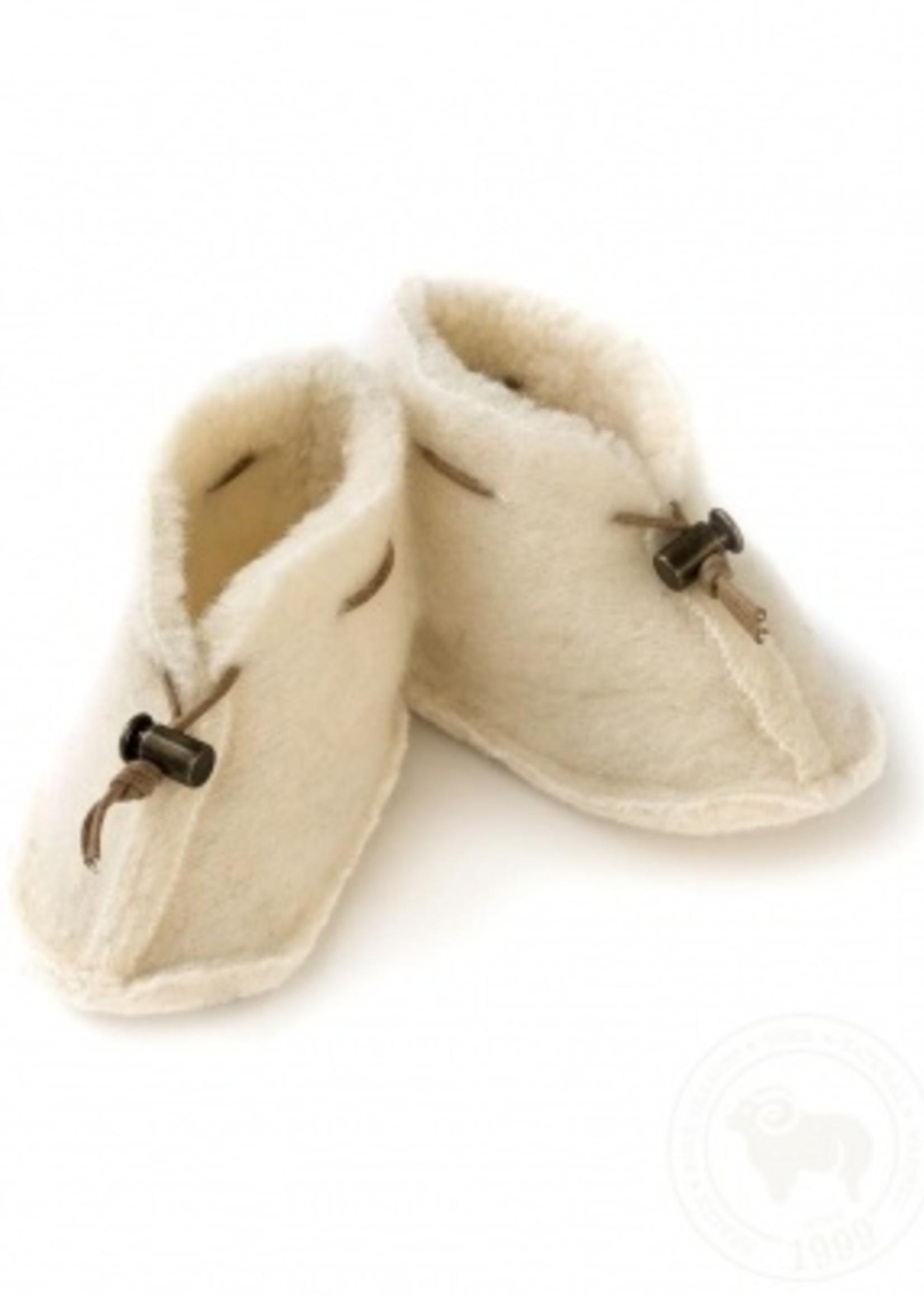 Alwero Slippers 100% emowool - Natural