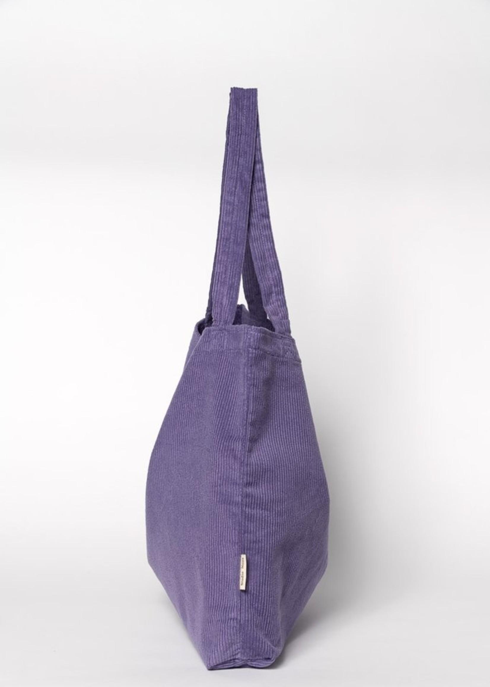 Studio Noos Mom Bag - Purple Rain Rib