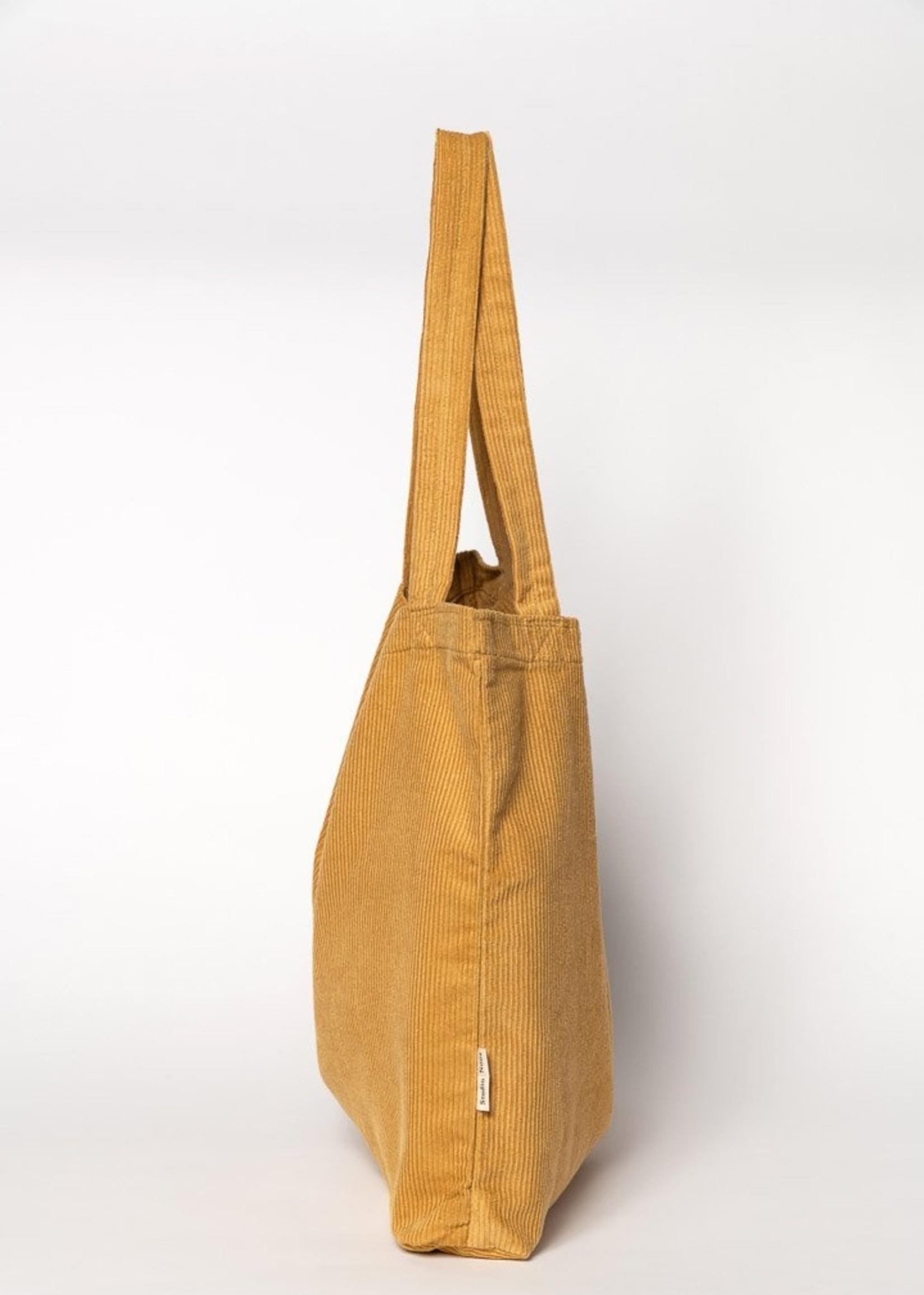 Studio Noos Mom Bag - Mustard Rib