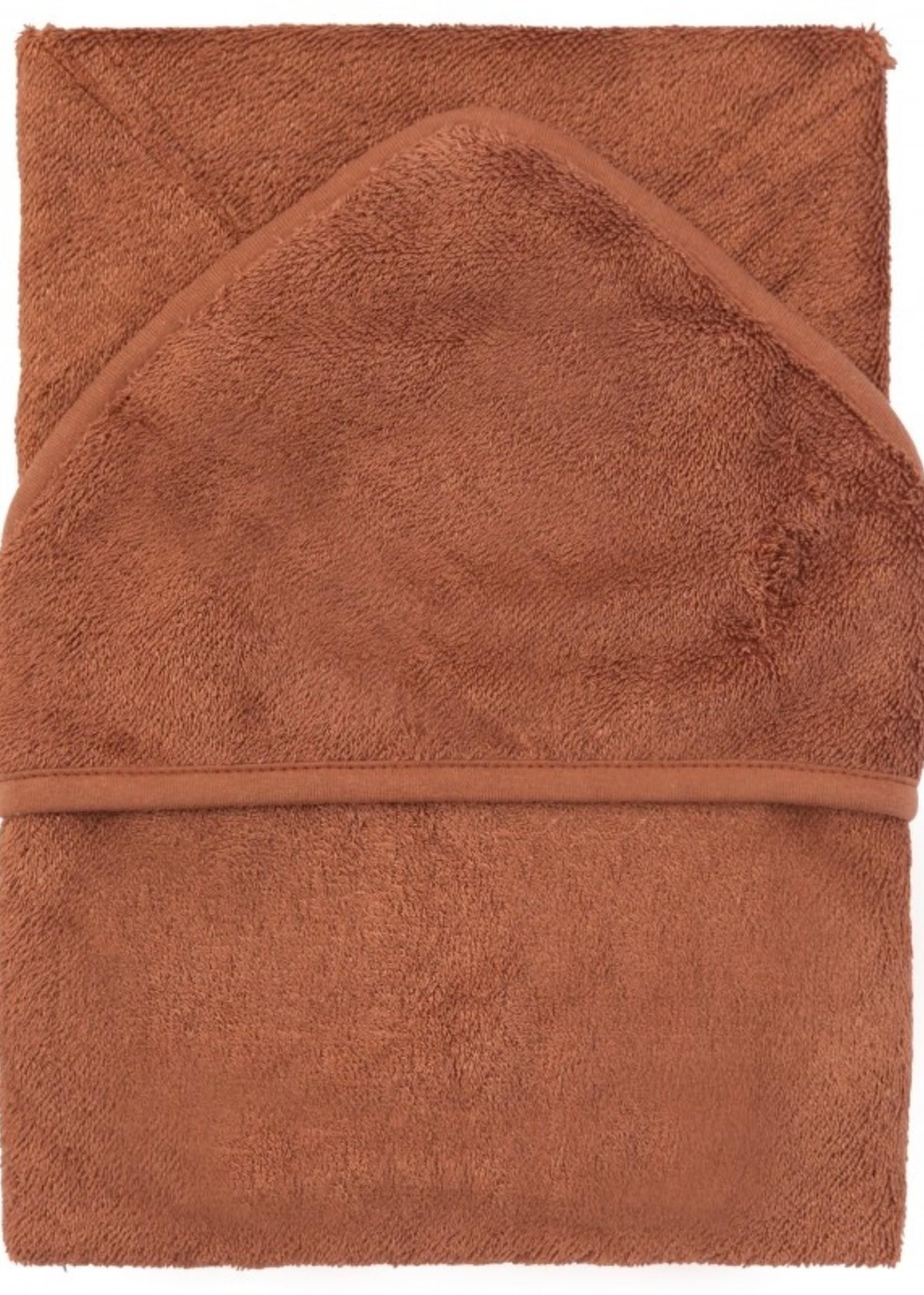 Timboo Hooded towel XL - Hazel Brown