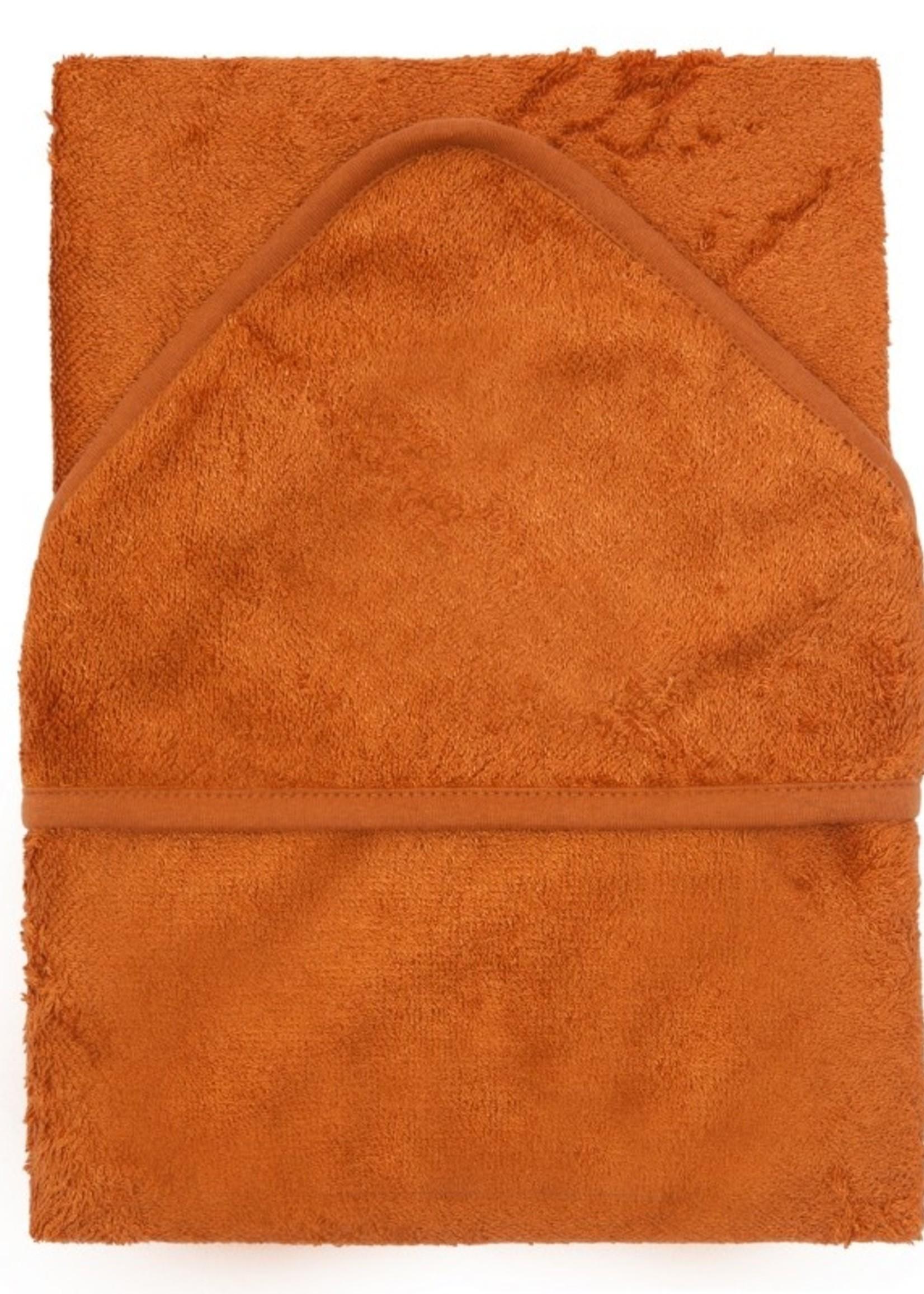 Timboo Hooded towel XL - Inca Rust