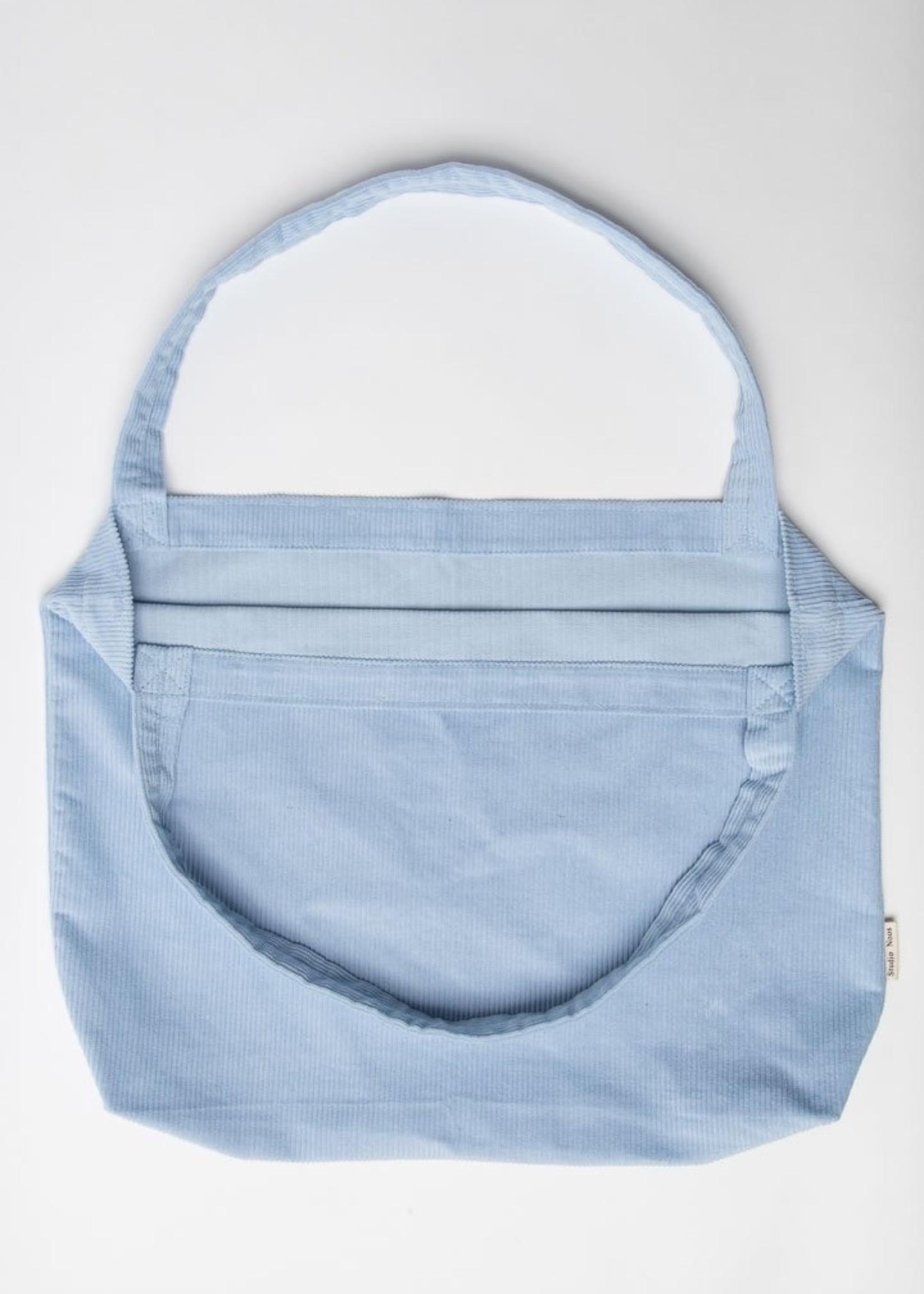 Studio Noos Mom Bag - Baby Blue Rib