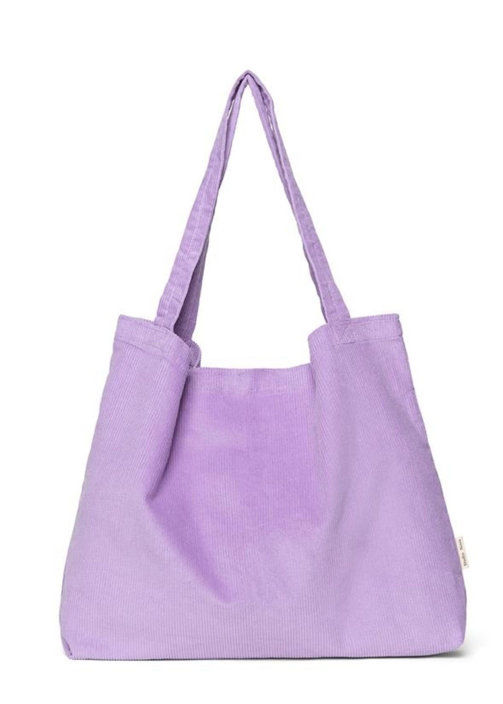 Studio Noos Mom Bag - Lilac Rib
