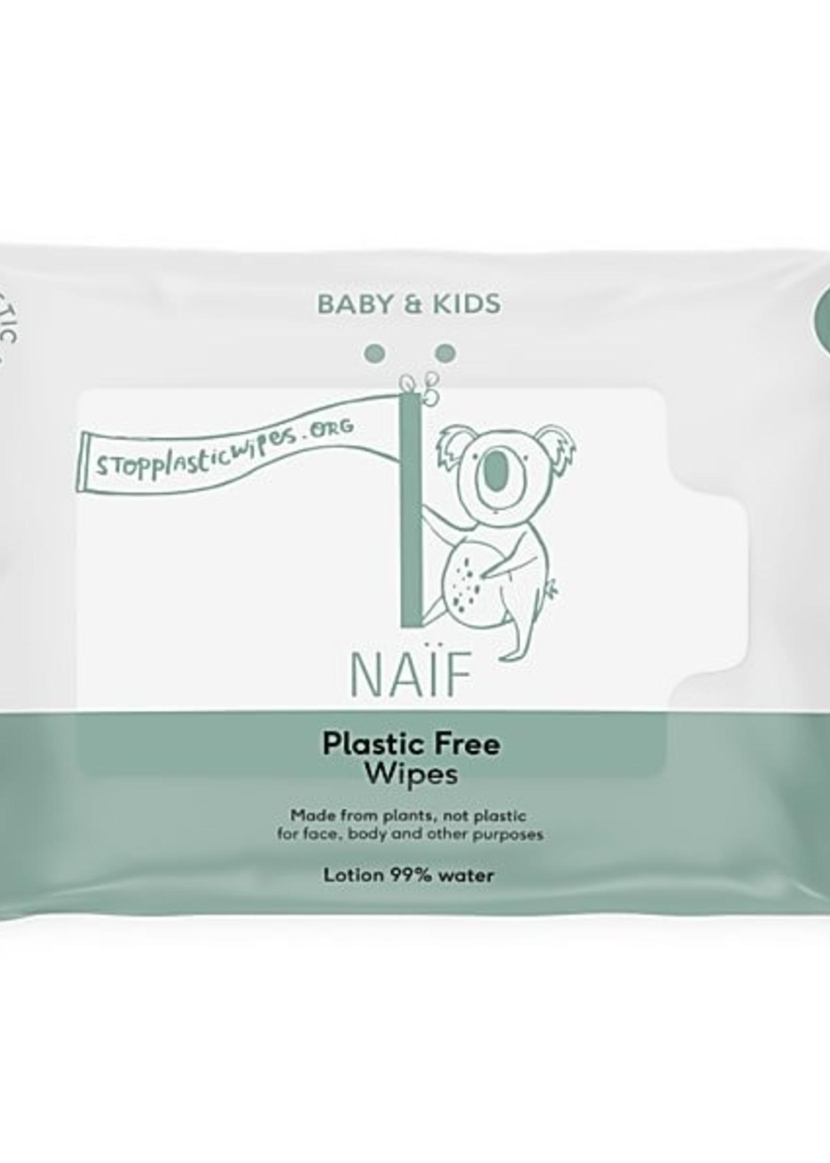 Naïf Baby & Kids Wipes - Plastic Free