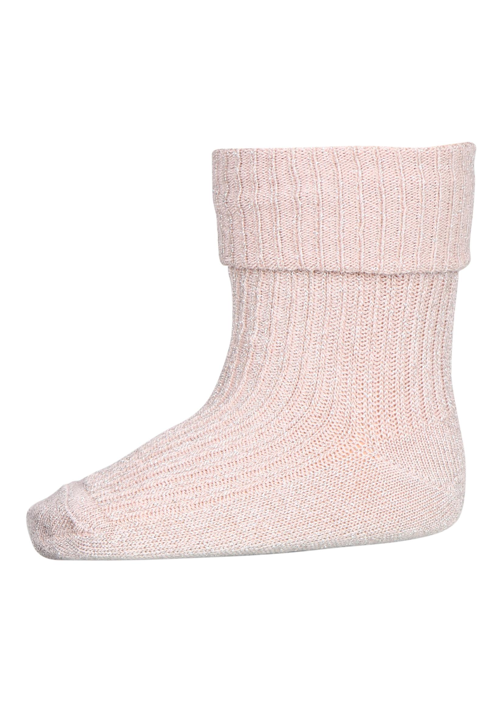 mp Denmark Ida Glitter Socks - Rose Dust