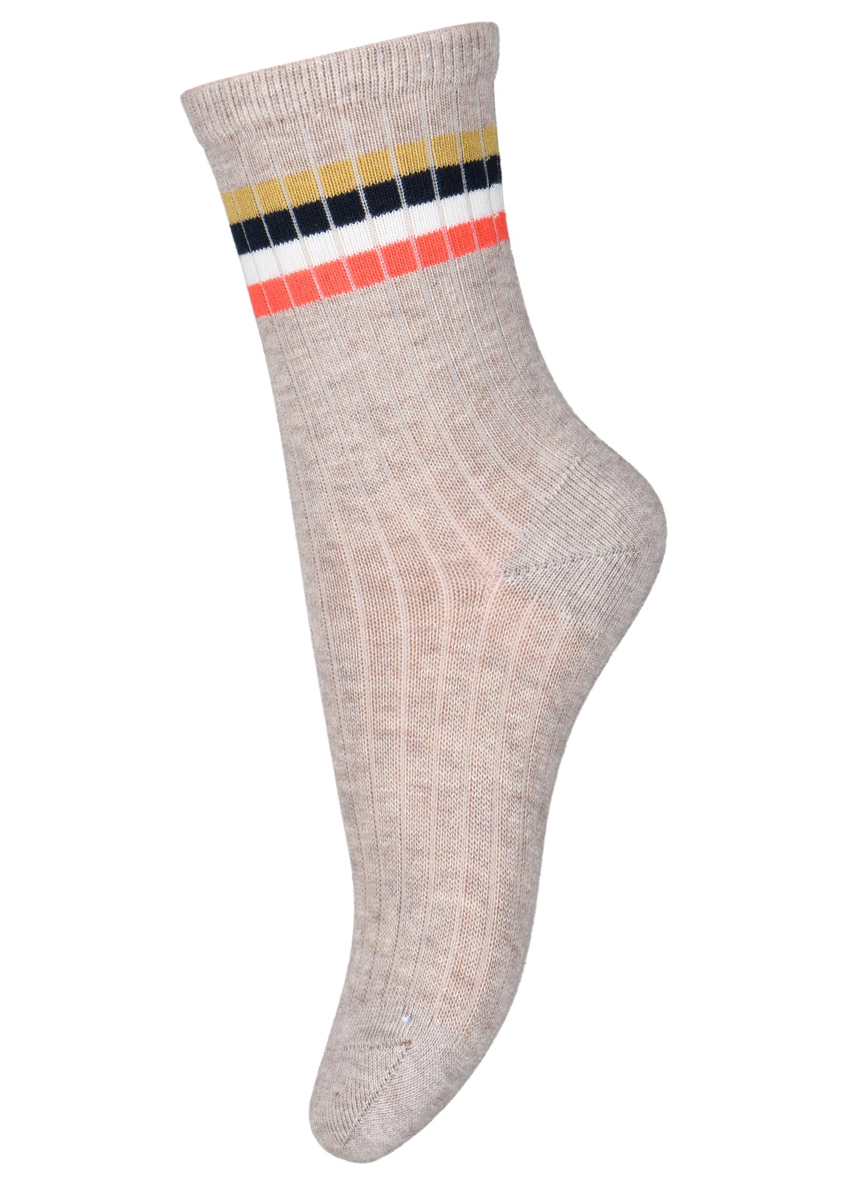 mp Denmark Aksel Socks - Light Brown Melange