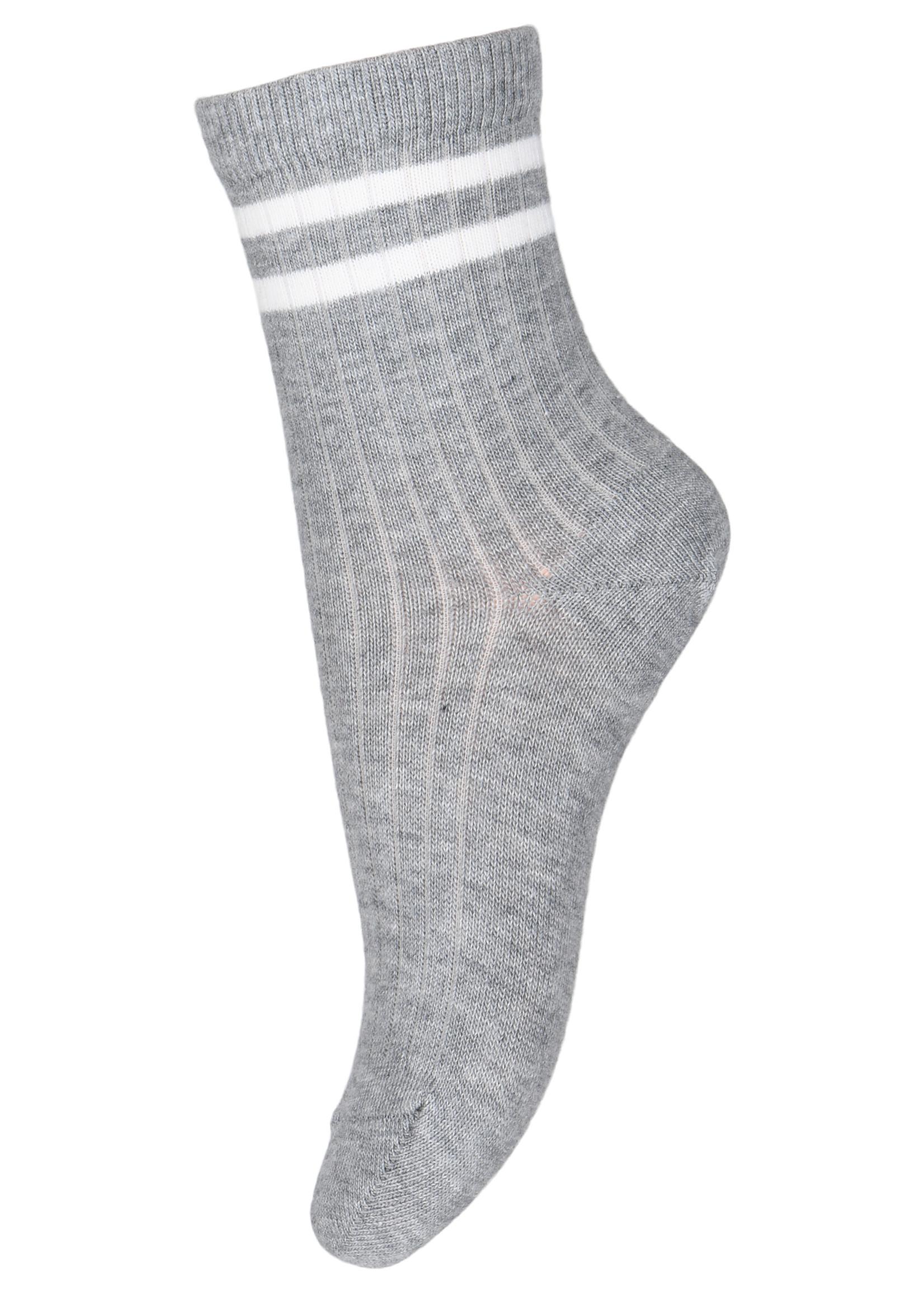 mp Denmark Benn Socks - Grey Mel