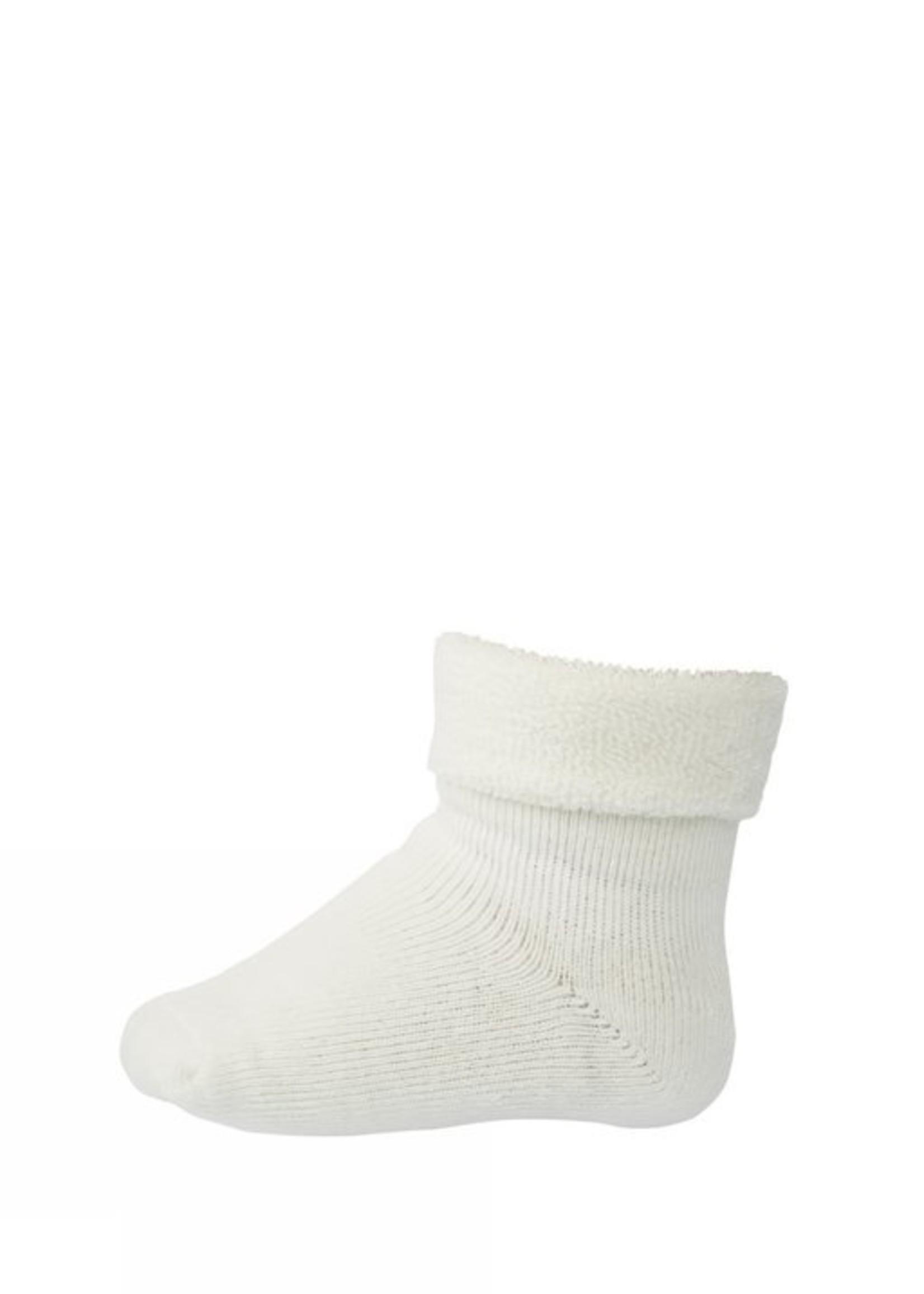 mp Denmark Terry Wool Socks - Snow White