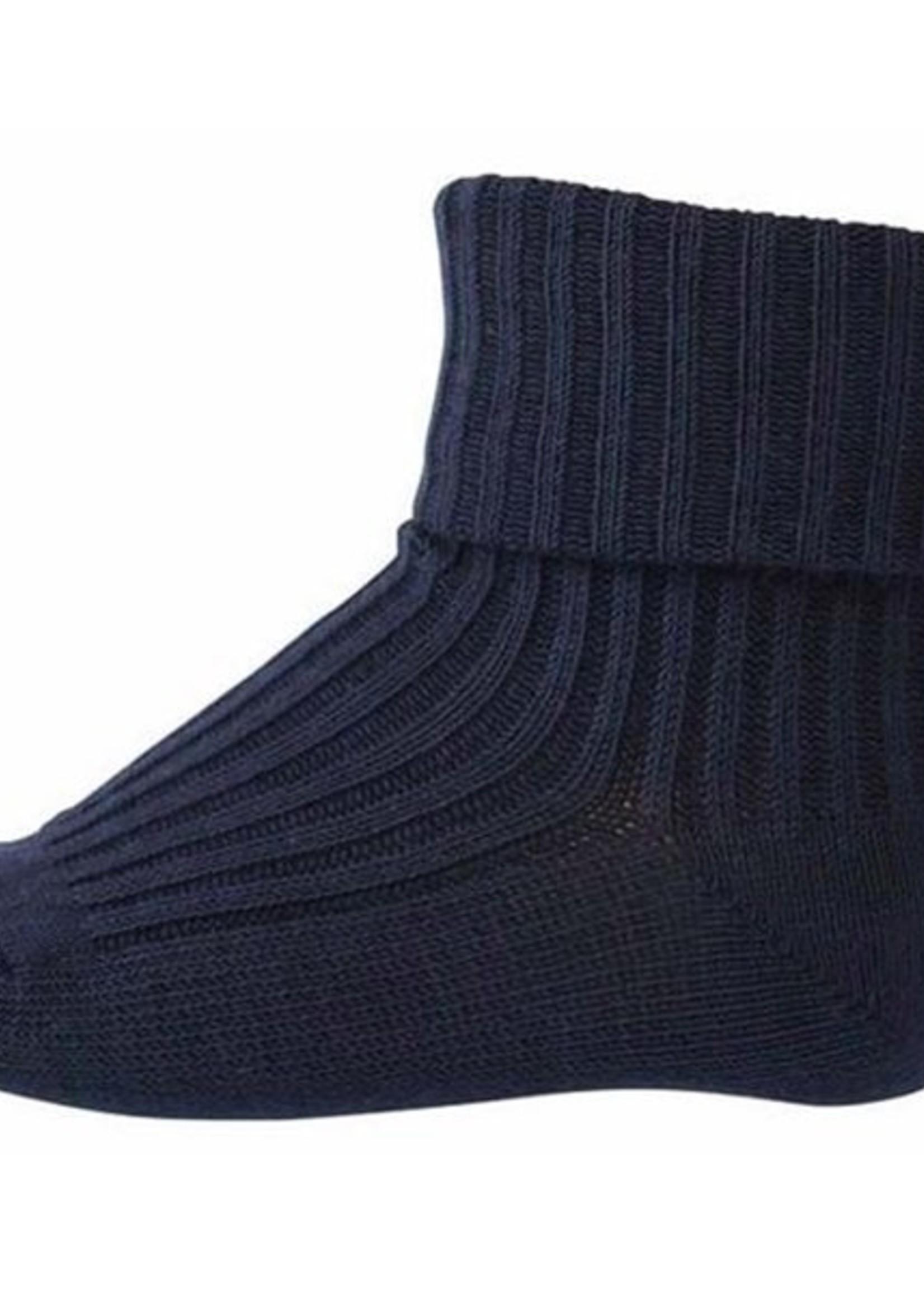 mp Denmark Rib Wool Socks - Navy
