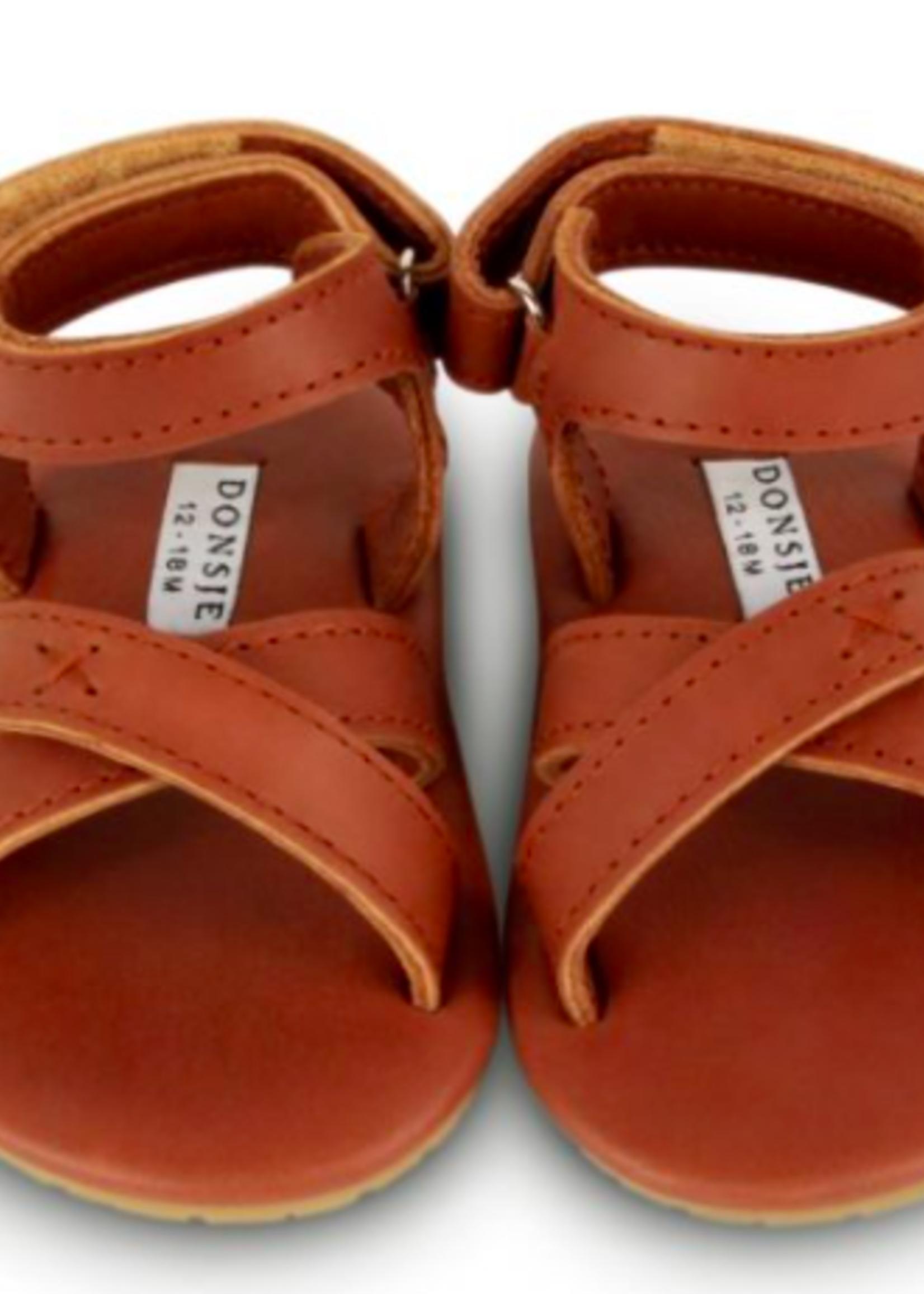 Donsje Amsterdam Giggles Cognac - Classic Leather