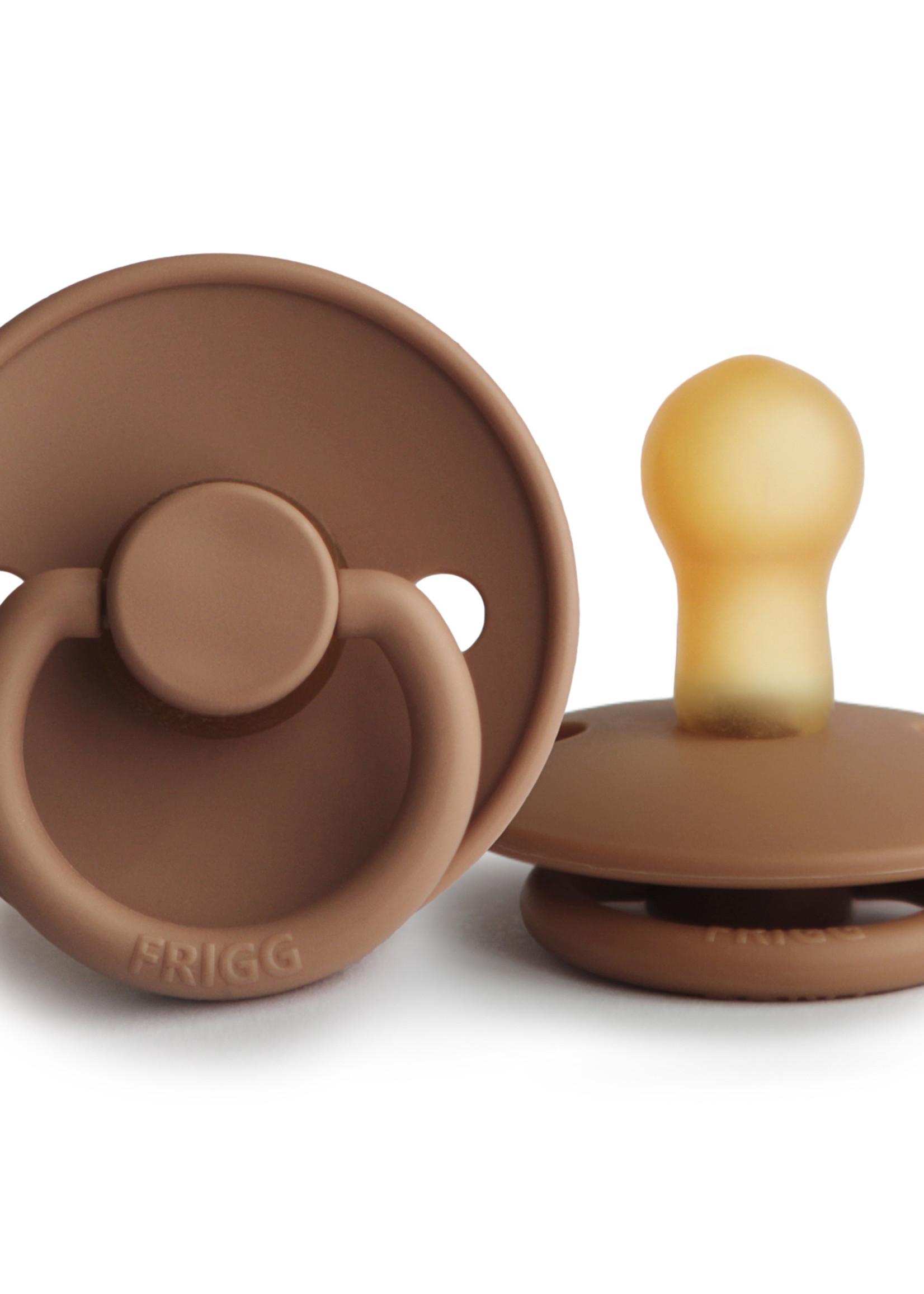 Frigg Pacifier Classic Latex - Peach Bronze T1