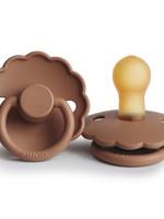 Frigg Pacifier Daisy Latex - Peach Bronze T2