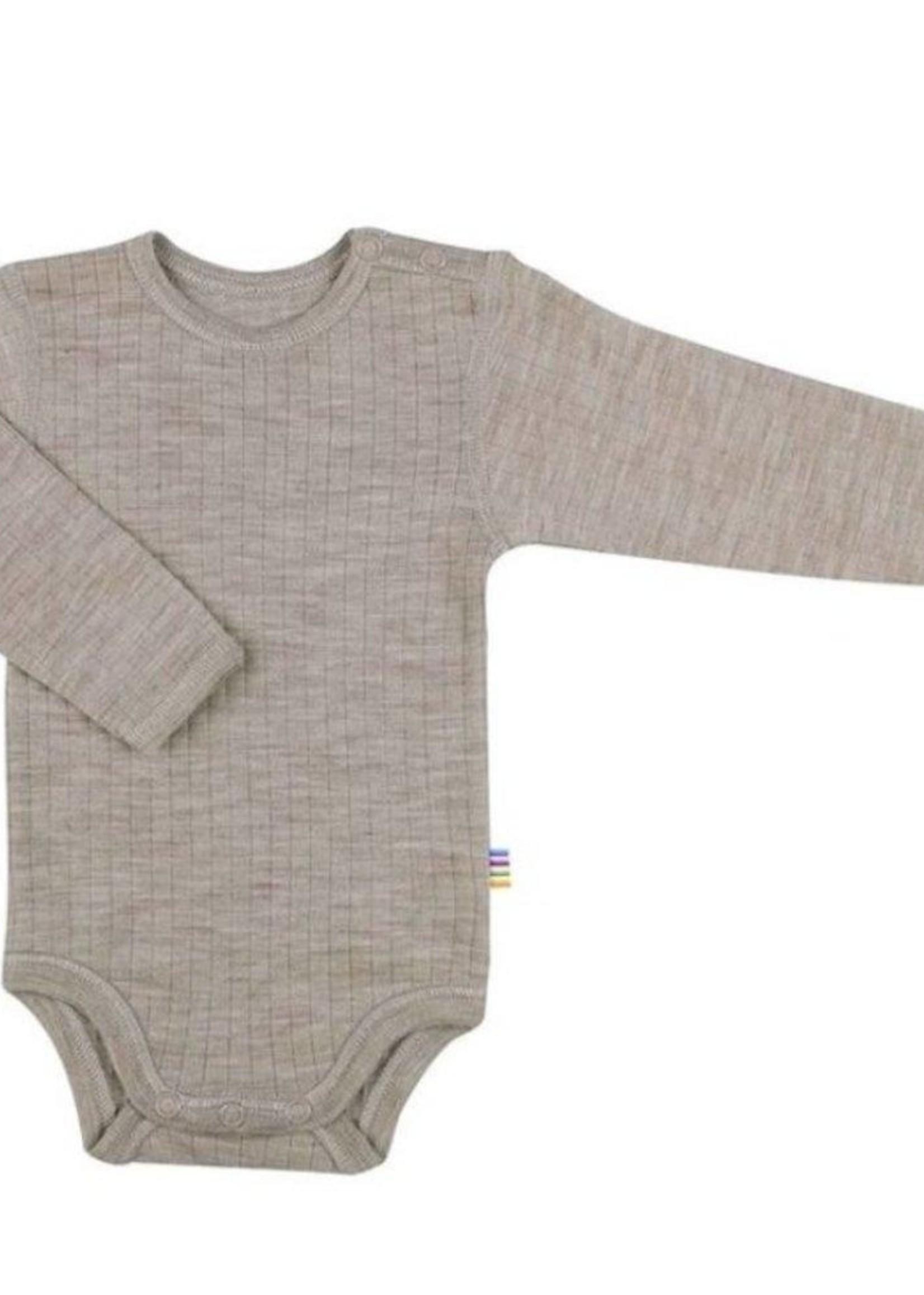 Joha Body Long Sleeve - 100% Wool - Sesame Melange