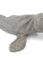 Senger Naturwelt Warmte Knuffel Zeehond  - Grijs