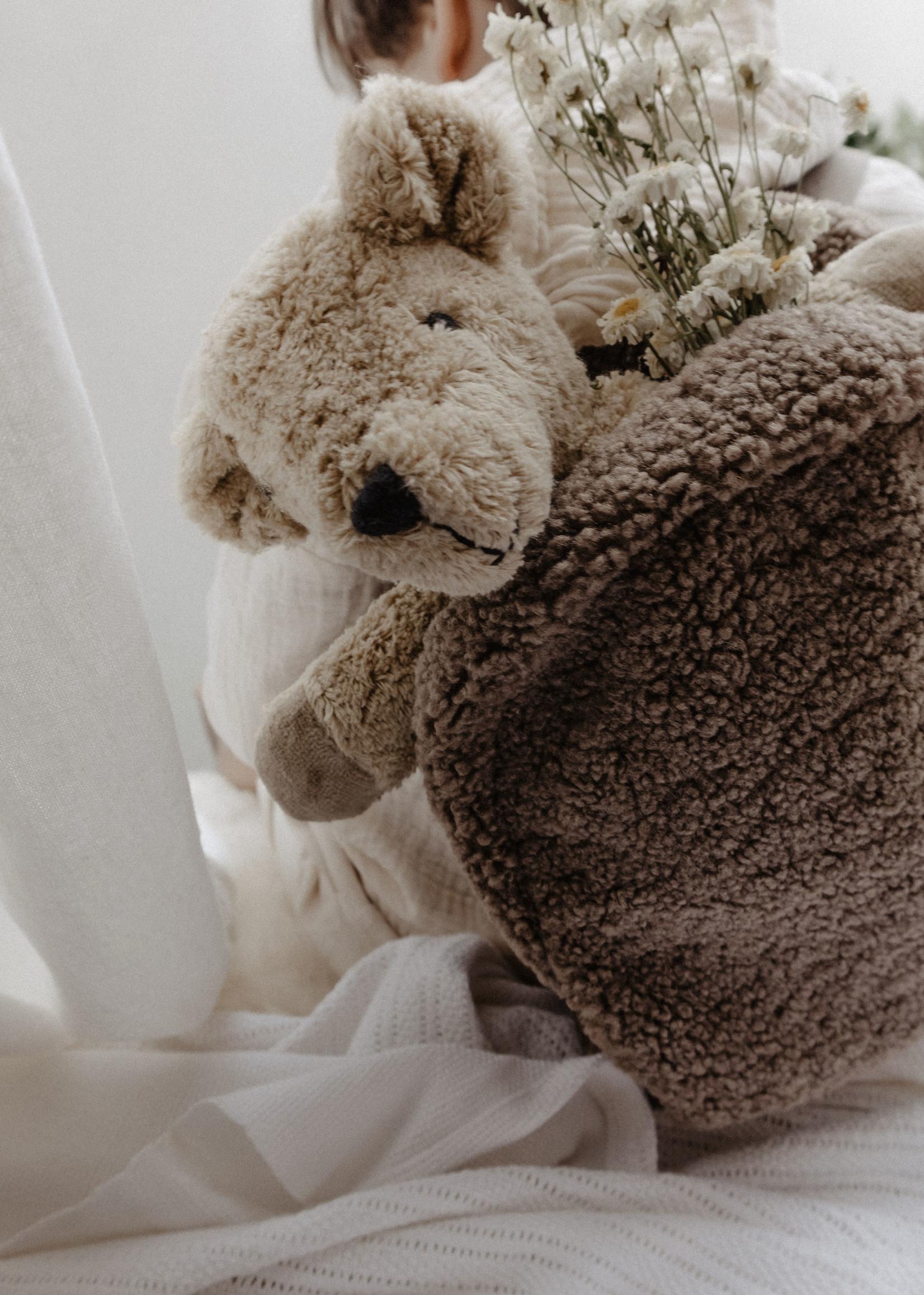 Senger Naturwelt Organic Cuddly Bear - Small - Beige