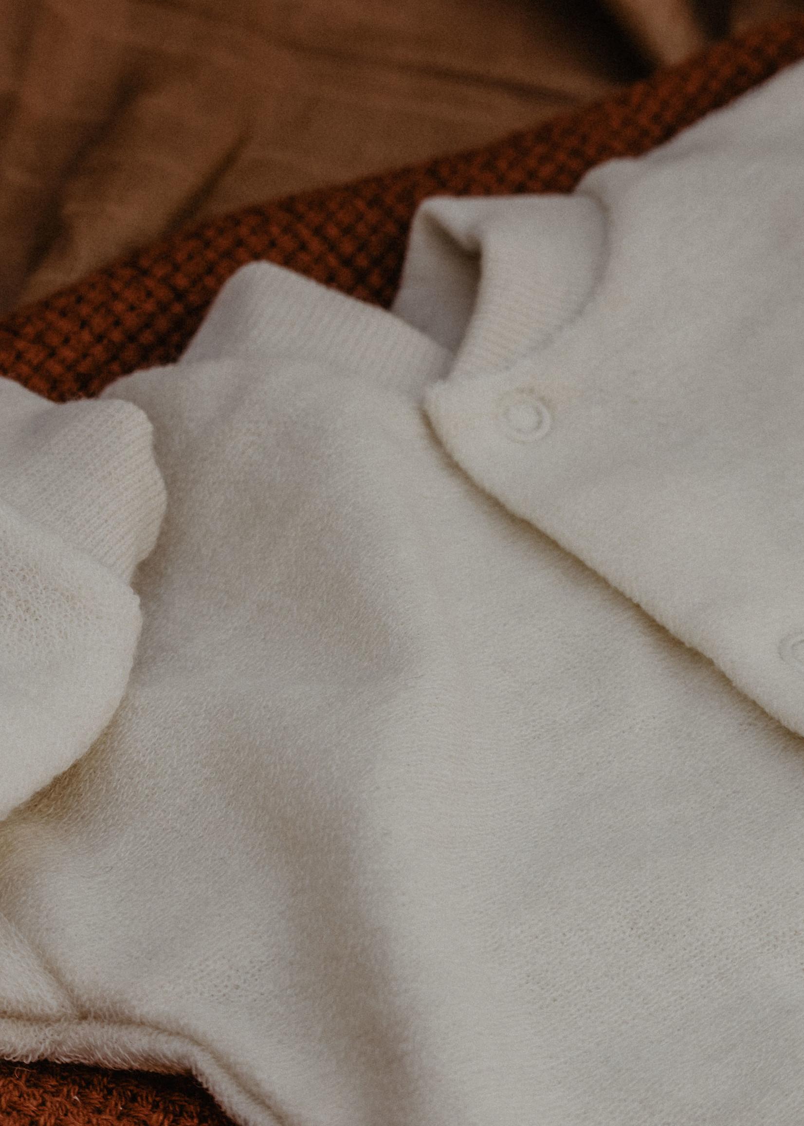 Cosilana One-Piece Pajamas - 100% Soft Organic Merino Wool