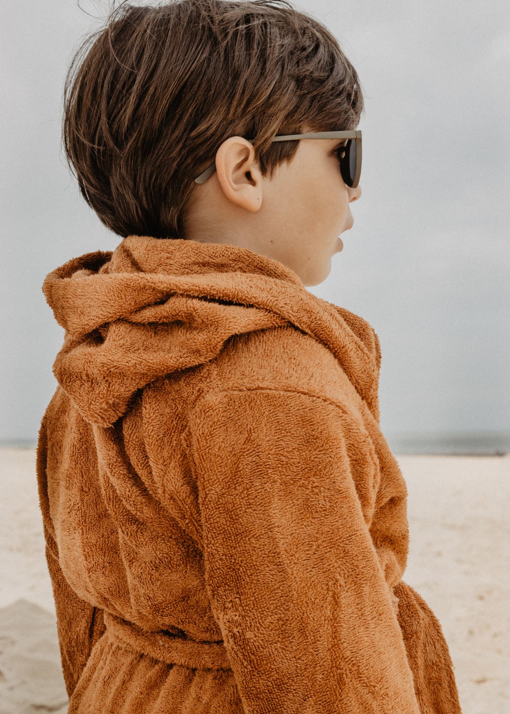Timboo Bathrobe Kids - Inca Rust