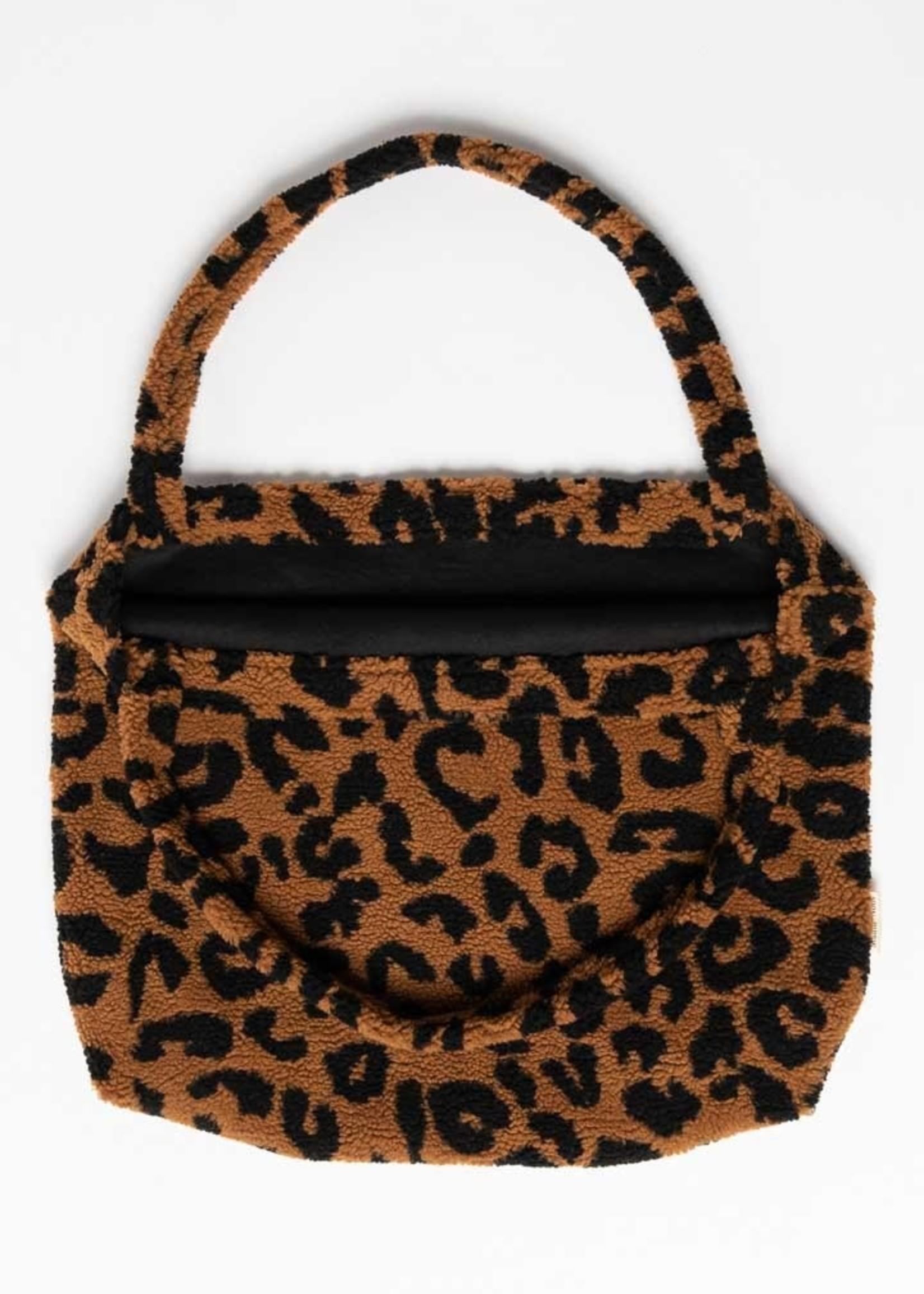 Studio Noos Mom Bag - Teddy Leopard Brown