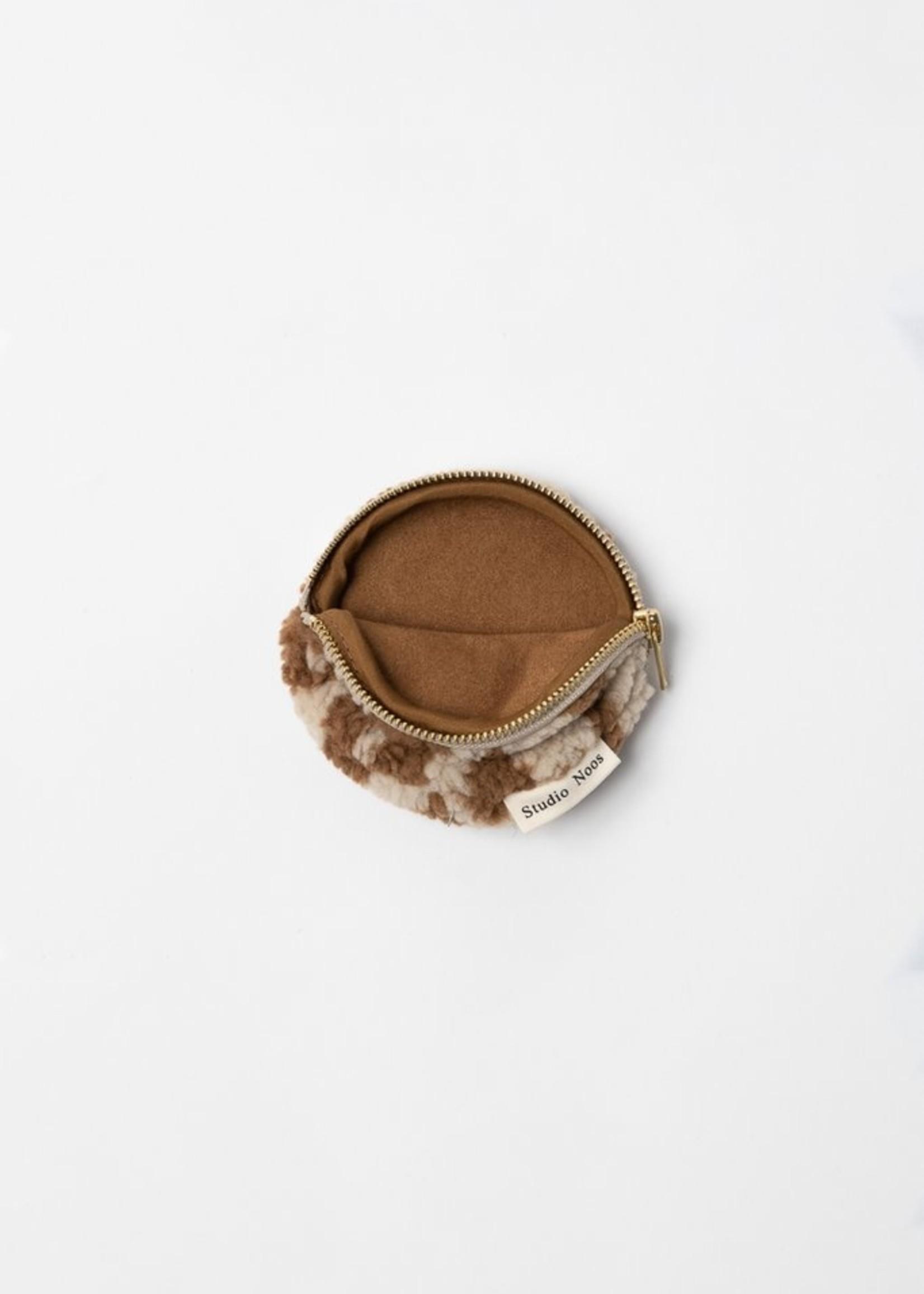 Studio Noos Chunky Wallet - Teddy Leopard