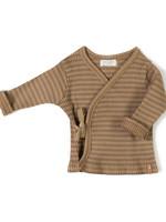 Nixnut Rib Vest - Choco Stripe