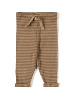 Nixnut Rib Legging - Choco Stripe