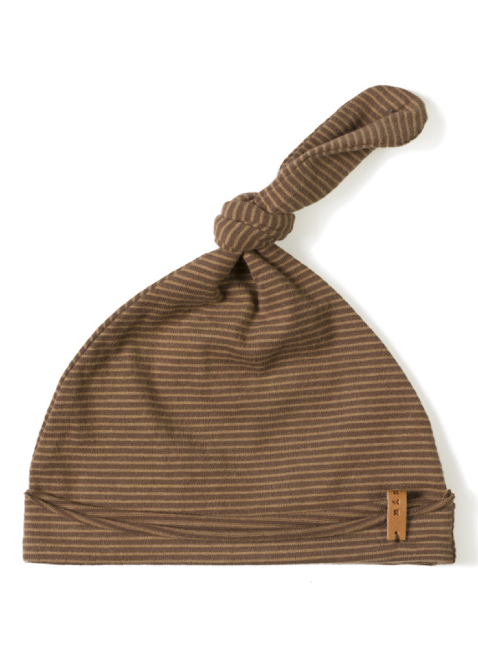 Nixnut Newbie Hat - Toffee Stripe