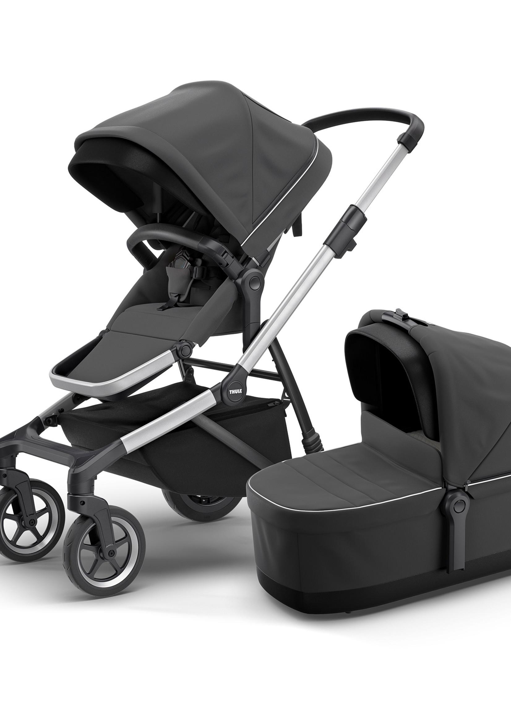 Thule Sleek Infant Stroller Bundle – Seat and Bassinet