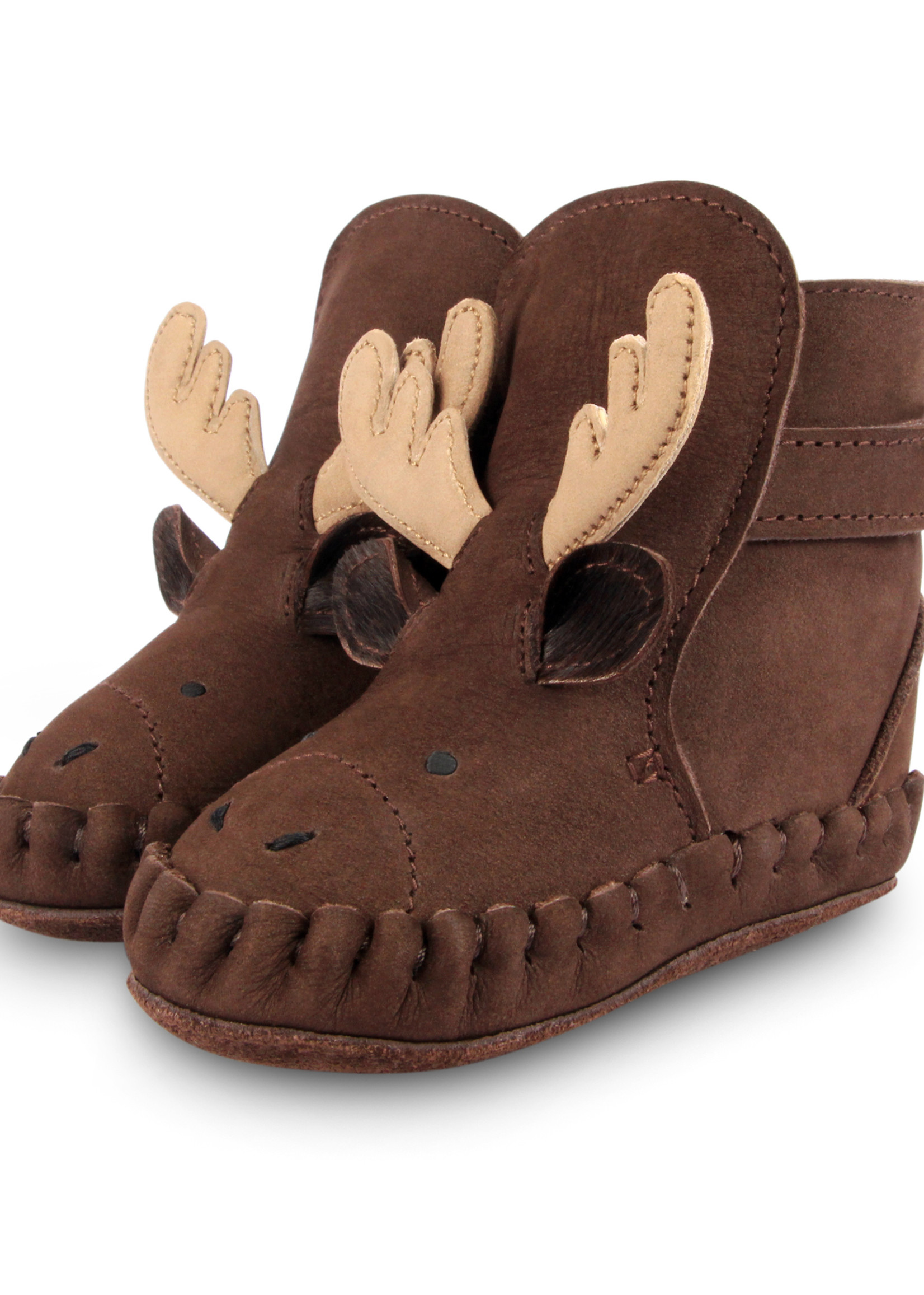 Donsje Amsterdam Kapi Exclusive Lining - Moose Chocolate Nubuck