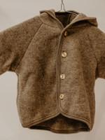 Engel Hooded Jacket - Walnut