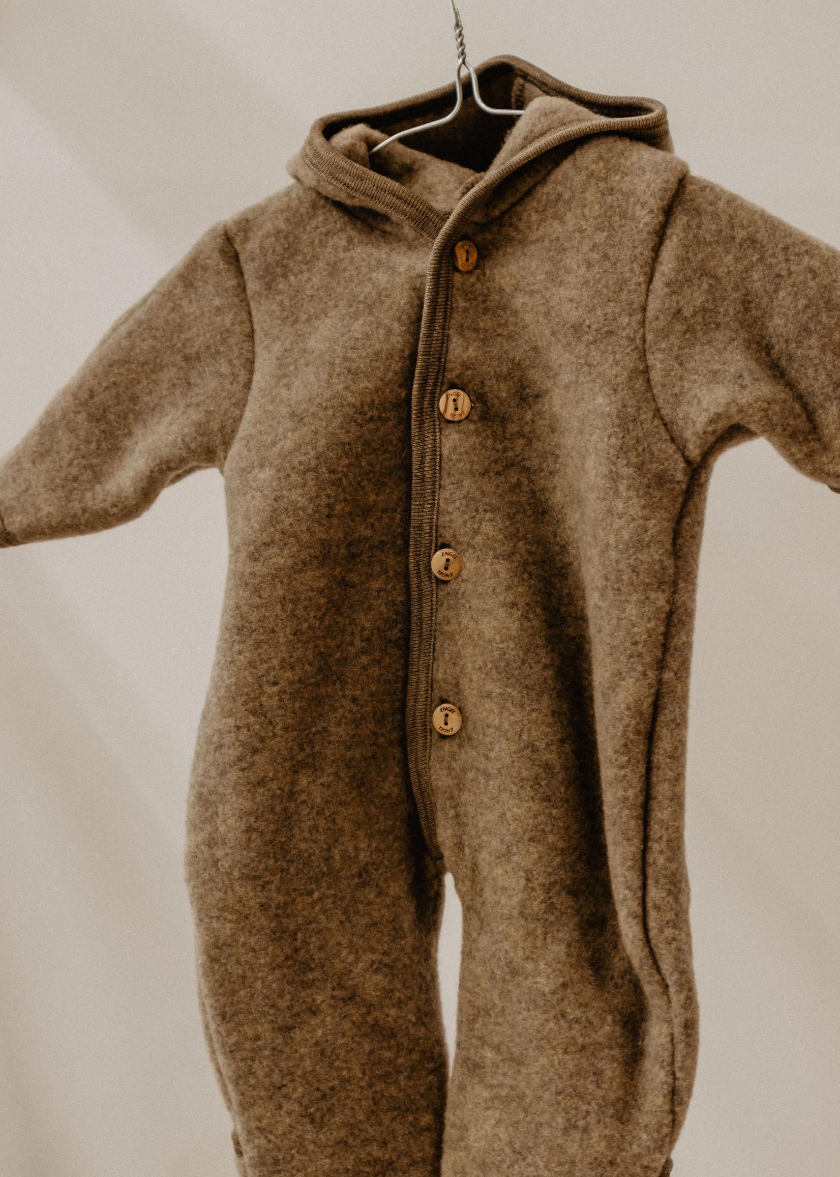 Engel Hooded Overall - Walnut