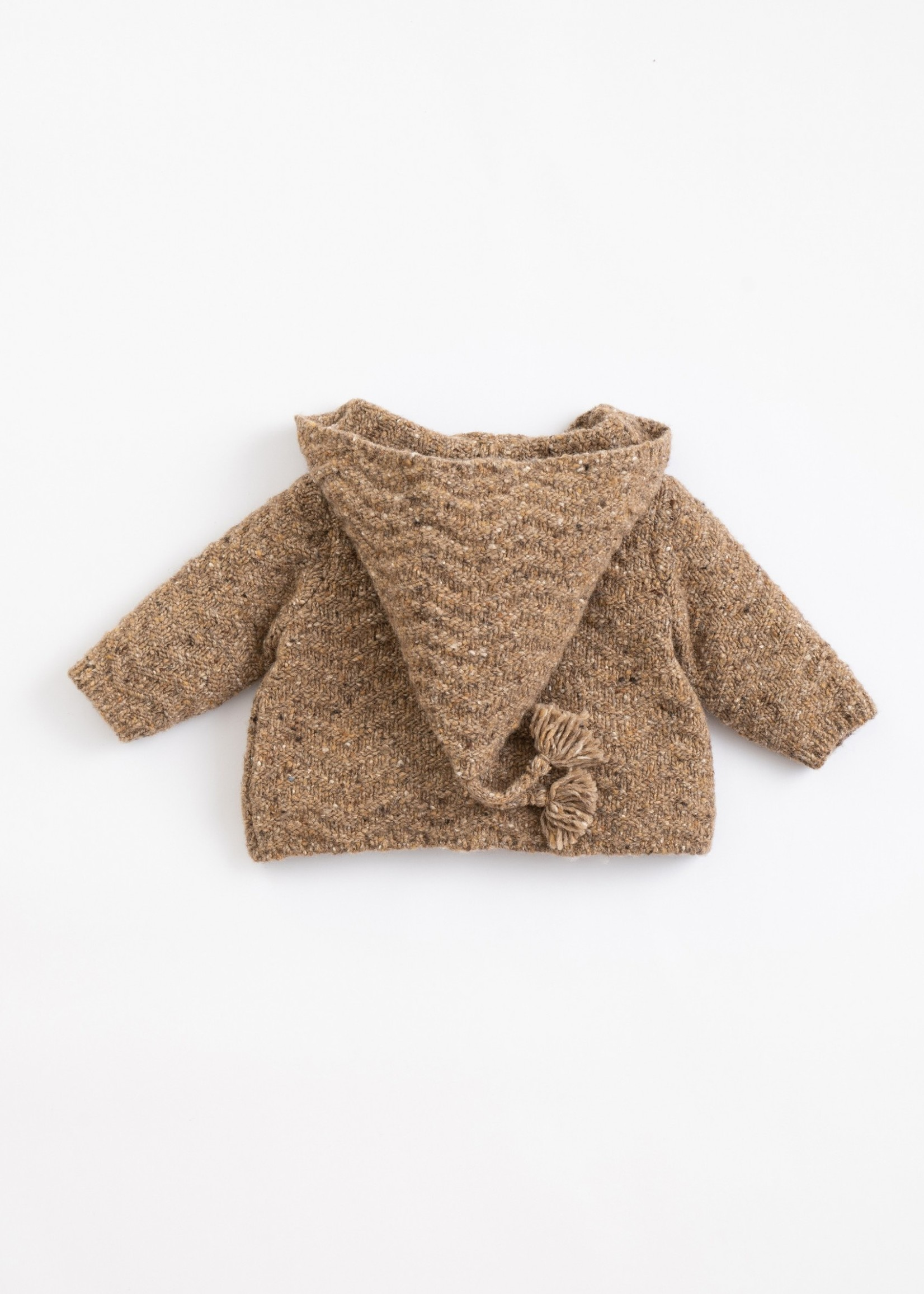 Play Up Knitted Jacket with Hood