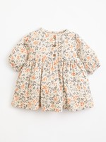 Play Up Woven Dress with Branches Print