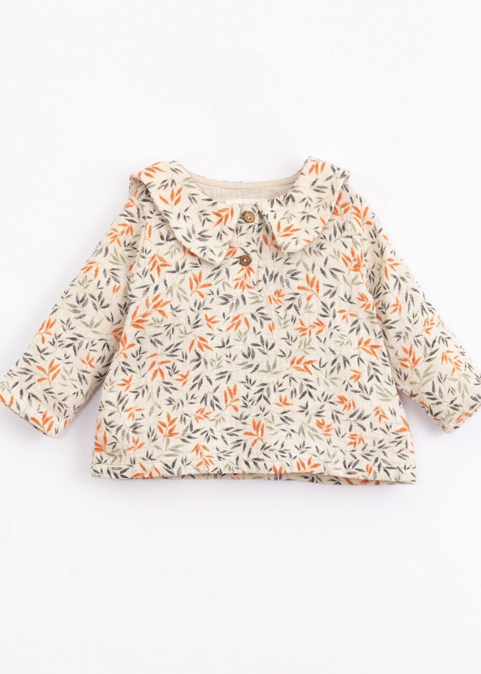 Play Up Woven Tunic with Branches Print