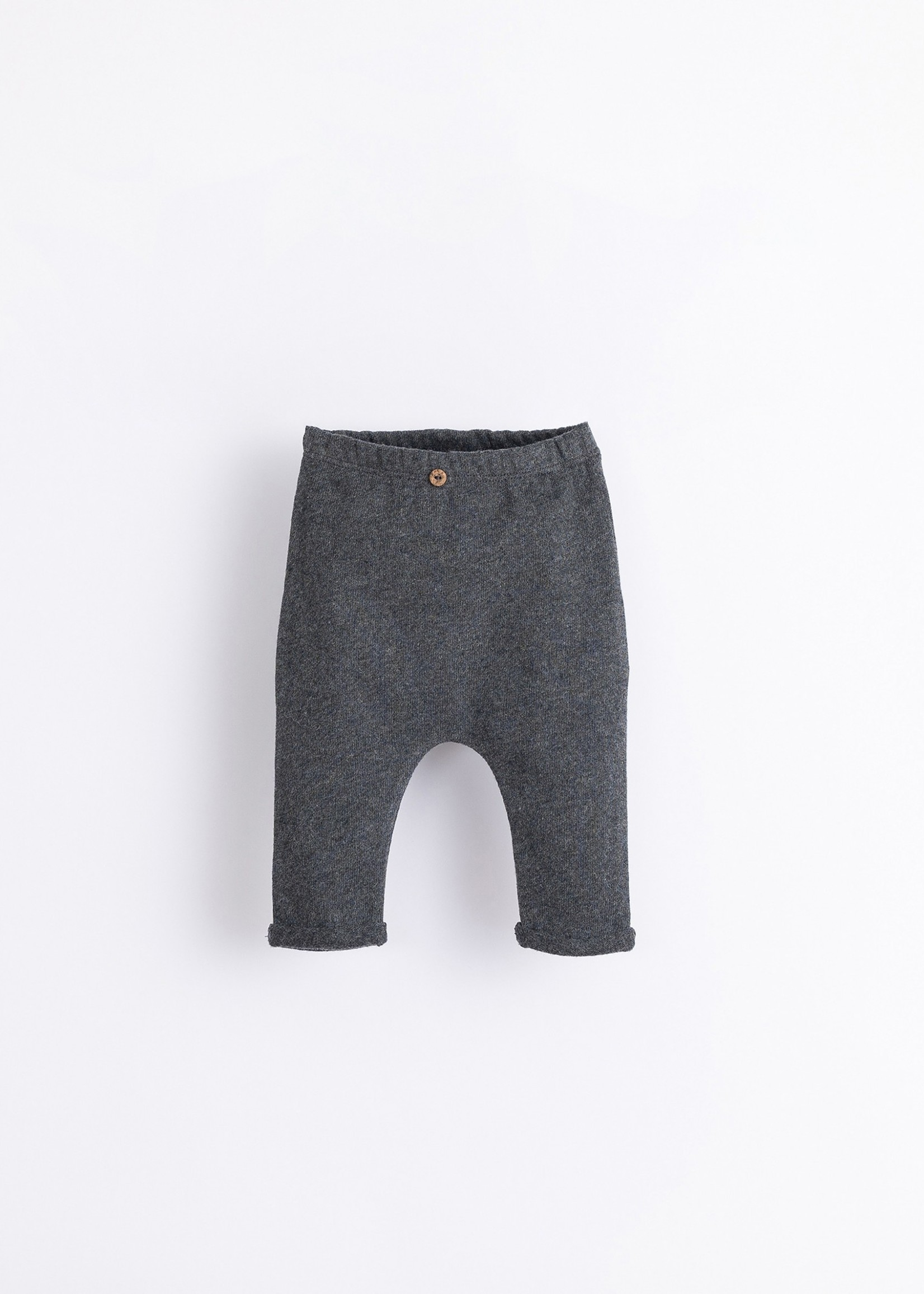 Play Up Trousers with Decorative Button