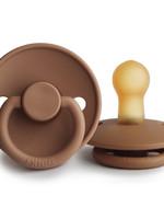 Frigg Pacifier Classic Latex - Peach Bronze T2