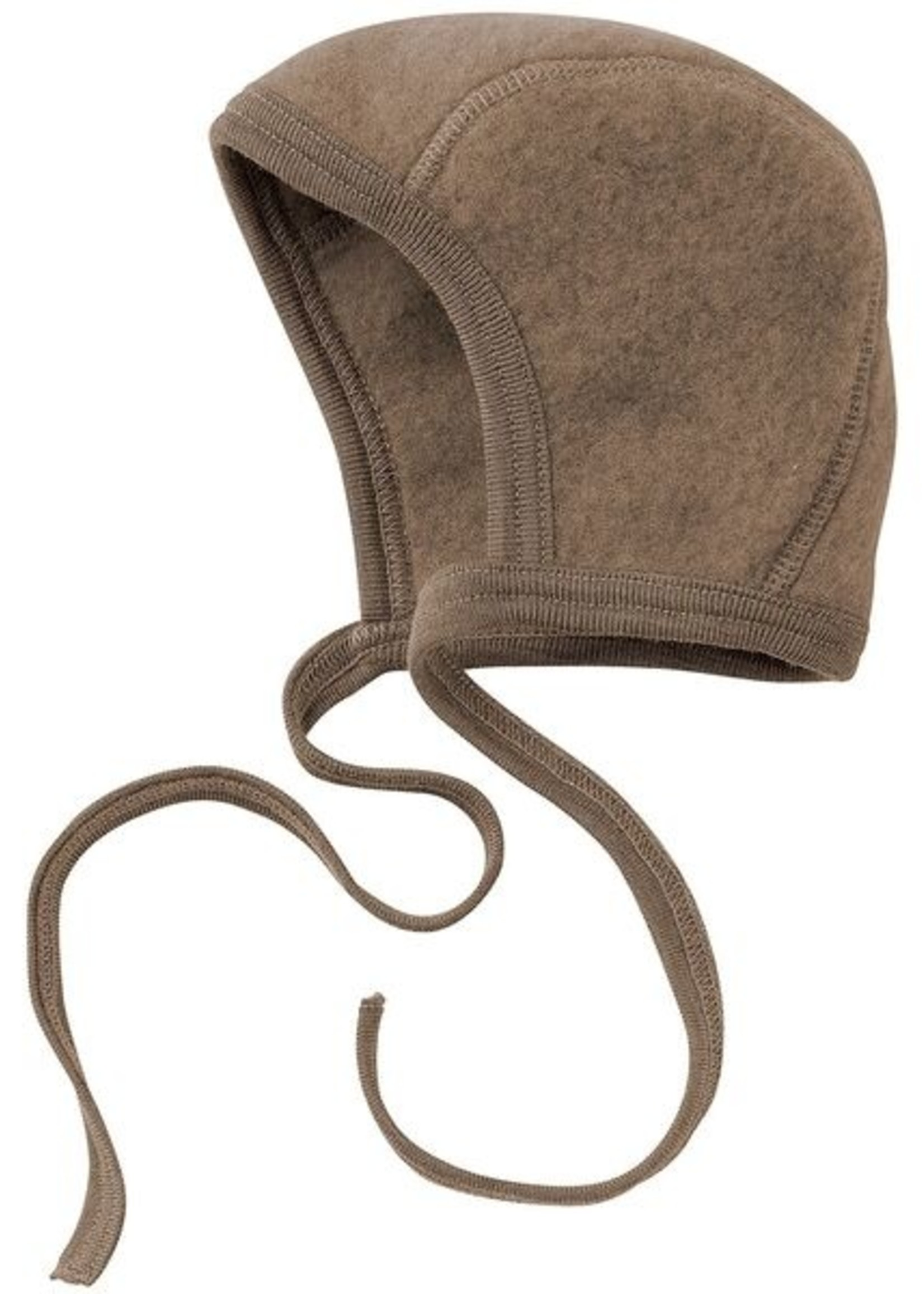 Engel Baby Bonnet - Walnut