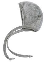 Engel Baby Bonnet - Grey Melange
