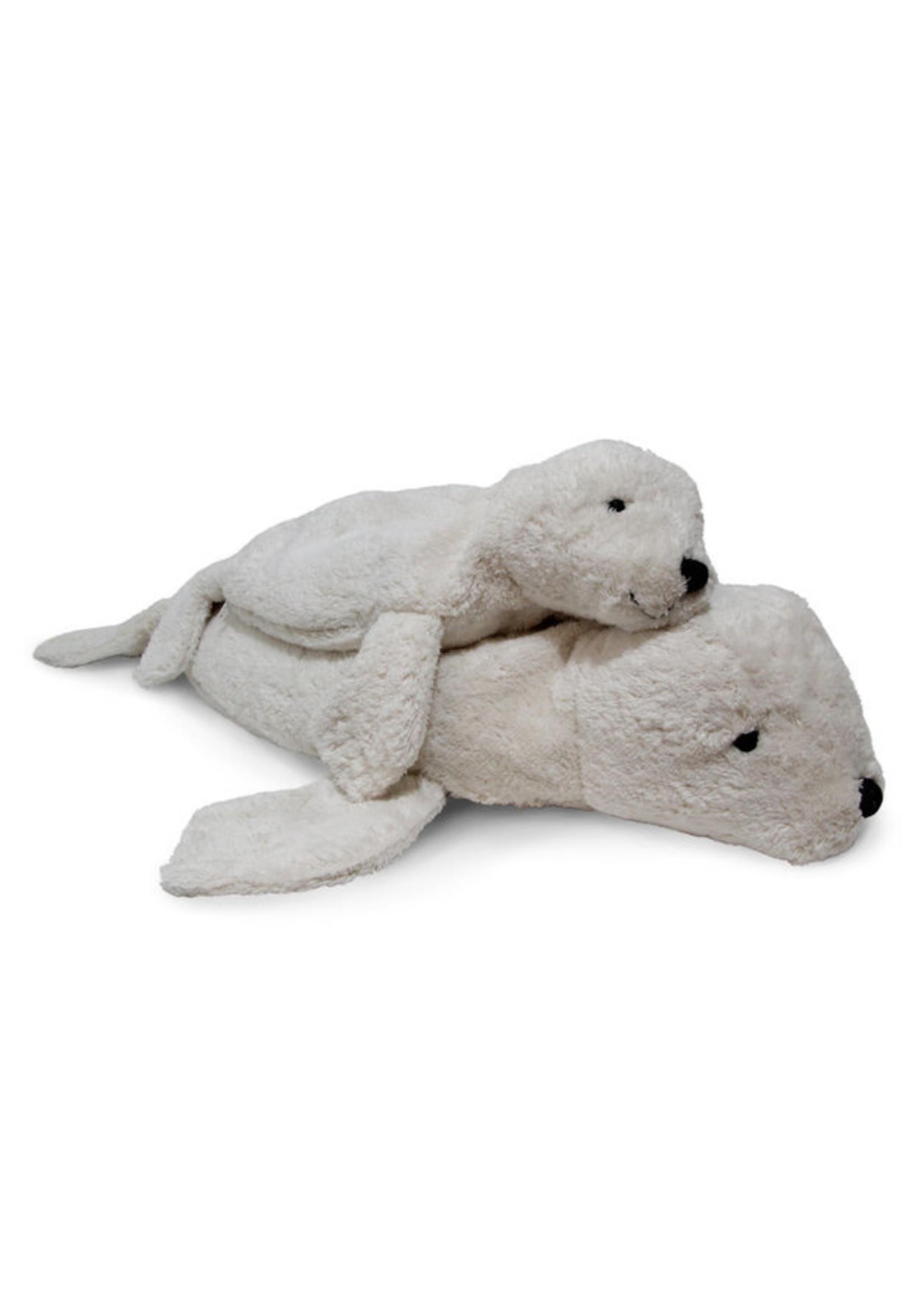 Senger Naturwelt Warmte Knuffel Zeehond  - Wit