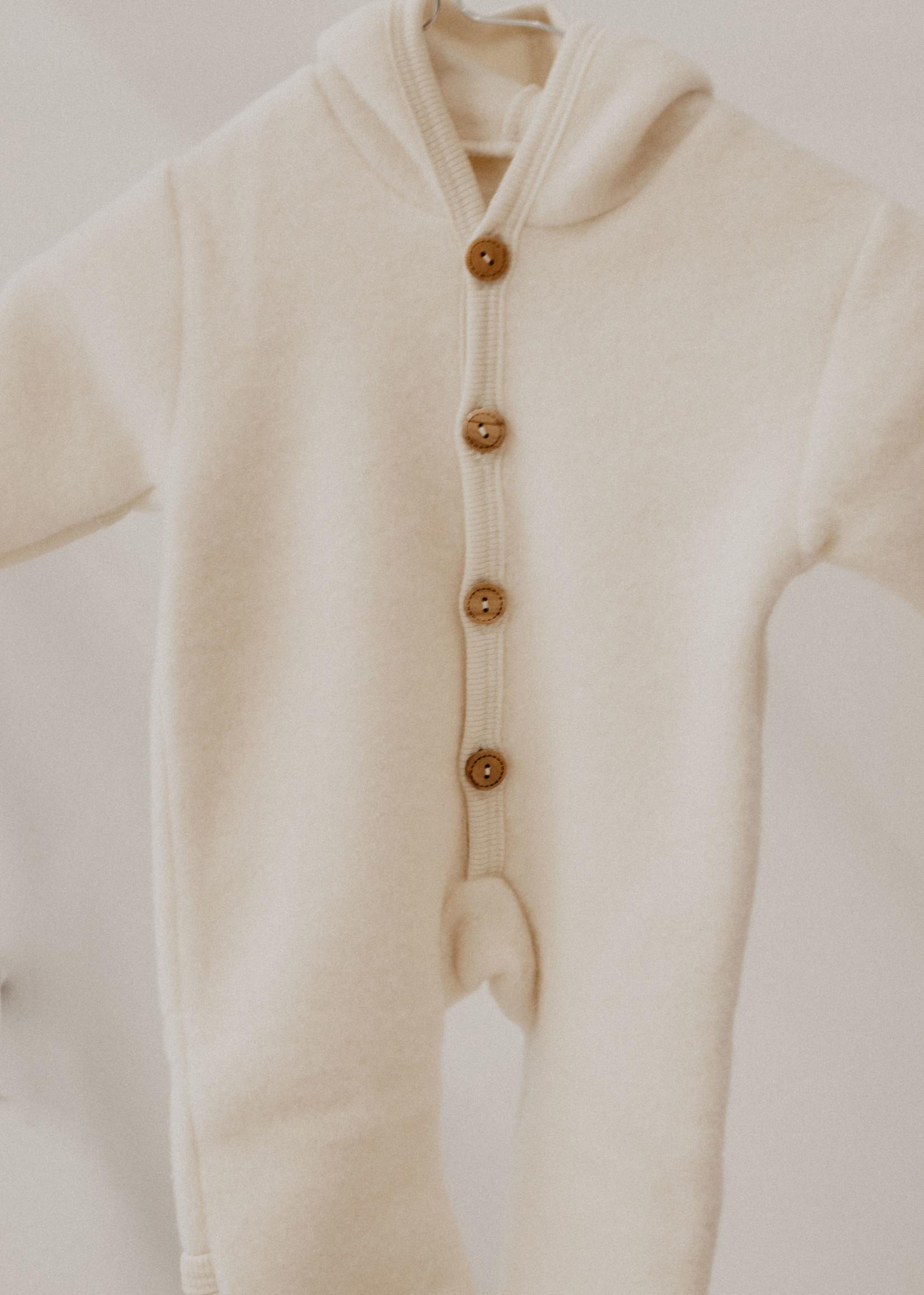 Cosilana Hooded Overall - Ecru