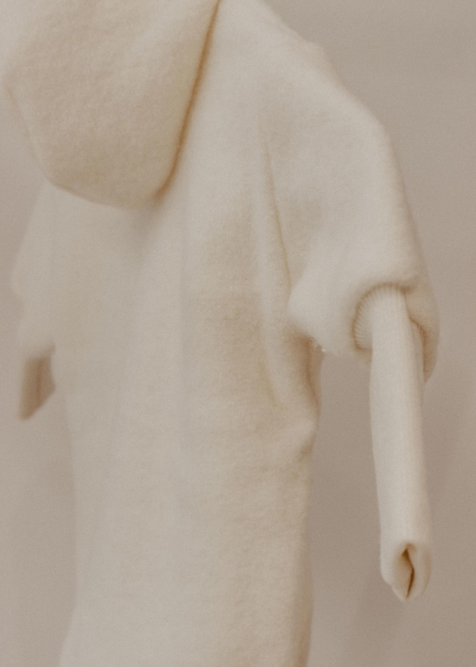 Cosilana Hooded Jacket - Ecru