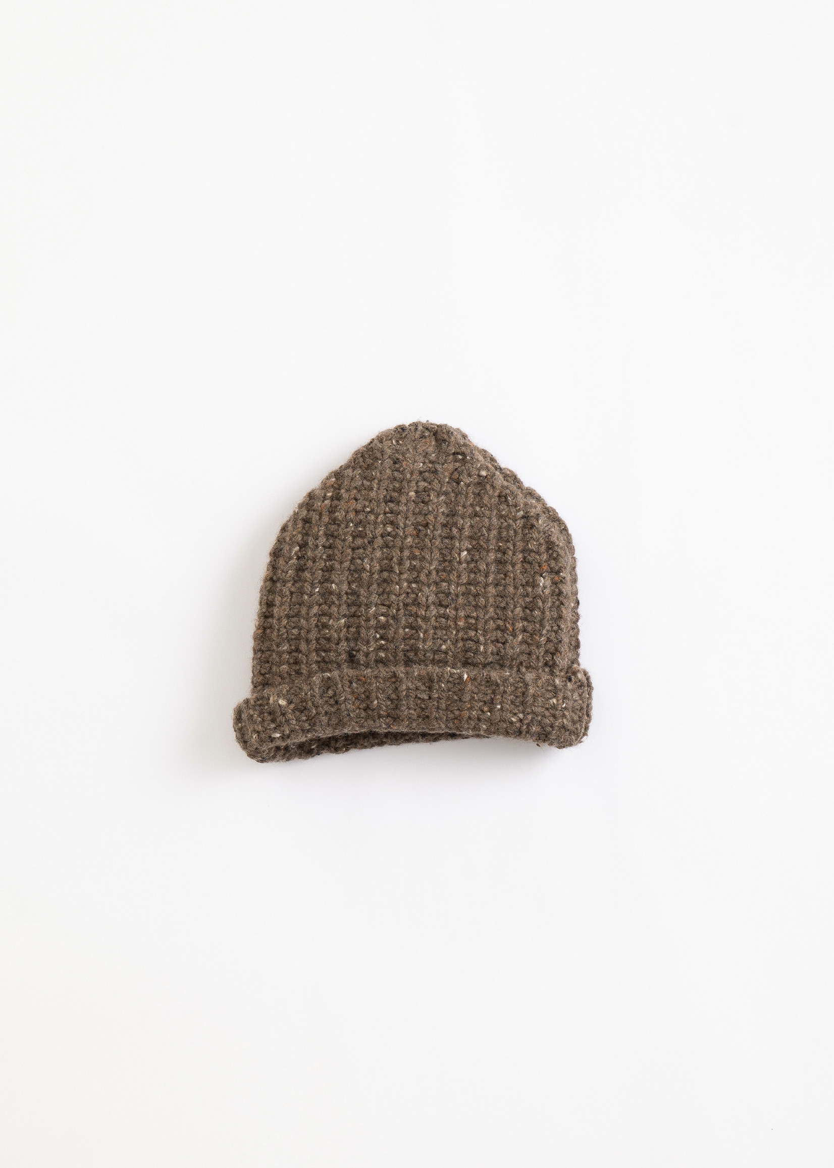 Play Up Knitted Beanie - Coffee