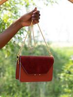 Sticky Lemon Shoulder Bag - Coloré - Fig Red + Wine Red