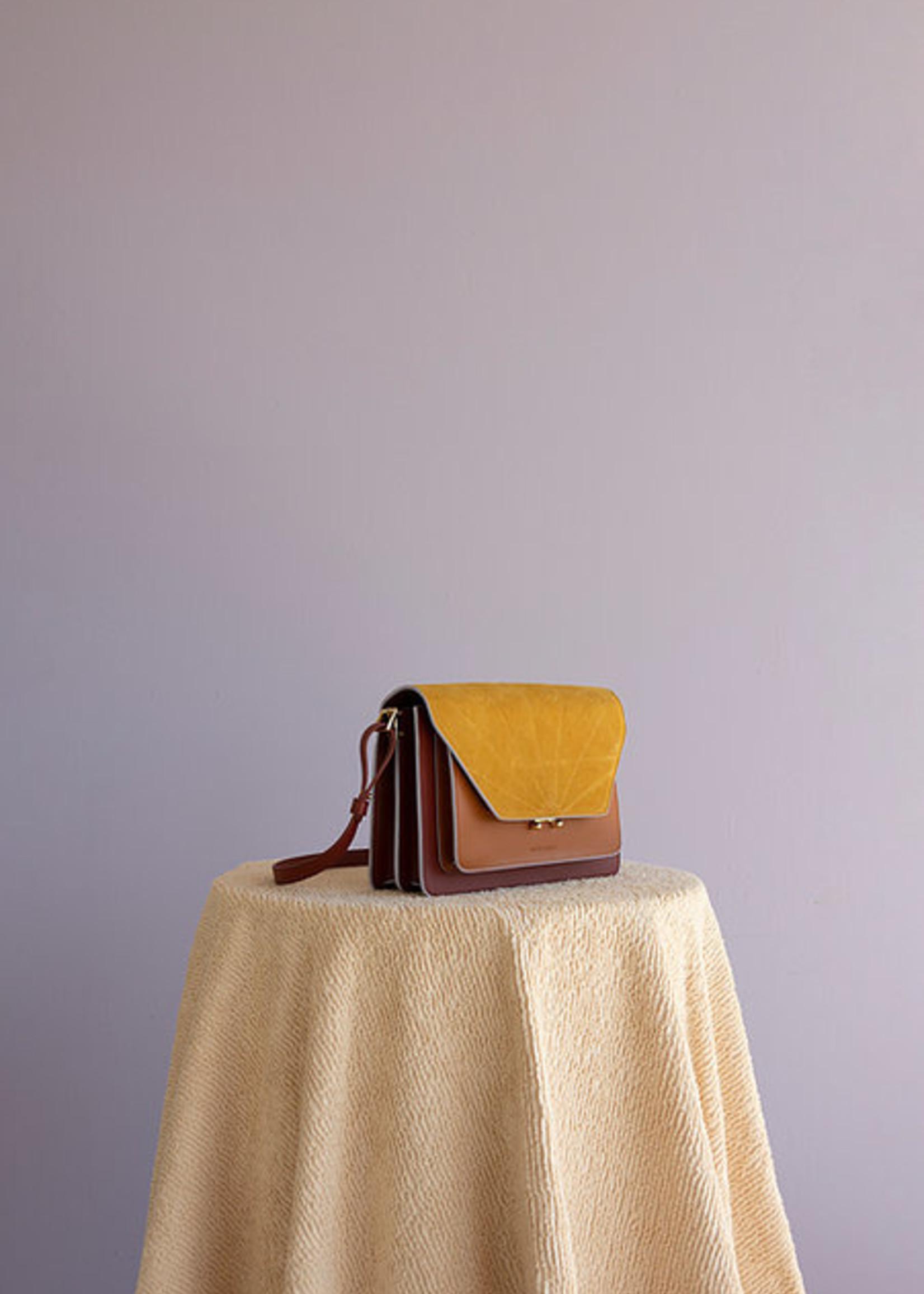 Sticky Lemon Schoudertas - Coloré - Brick Red + Sunset Orange + Honey Gold