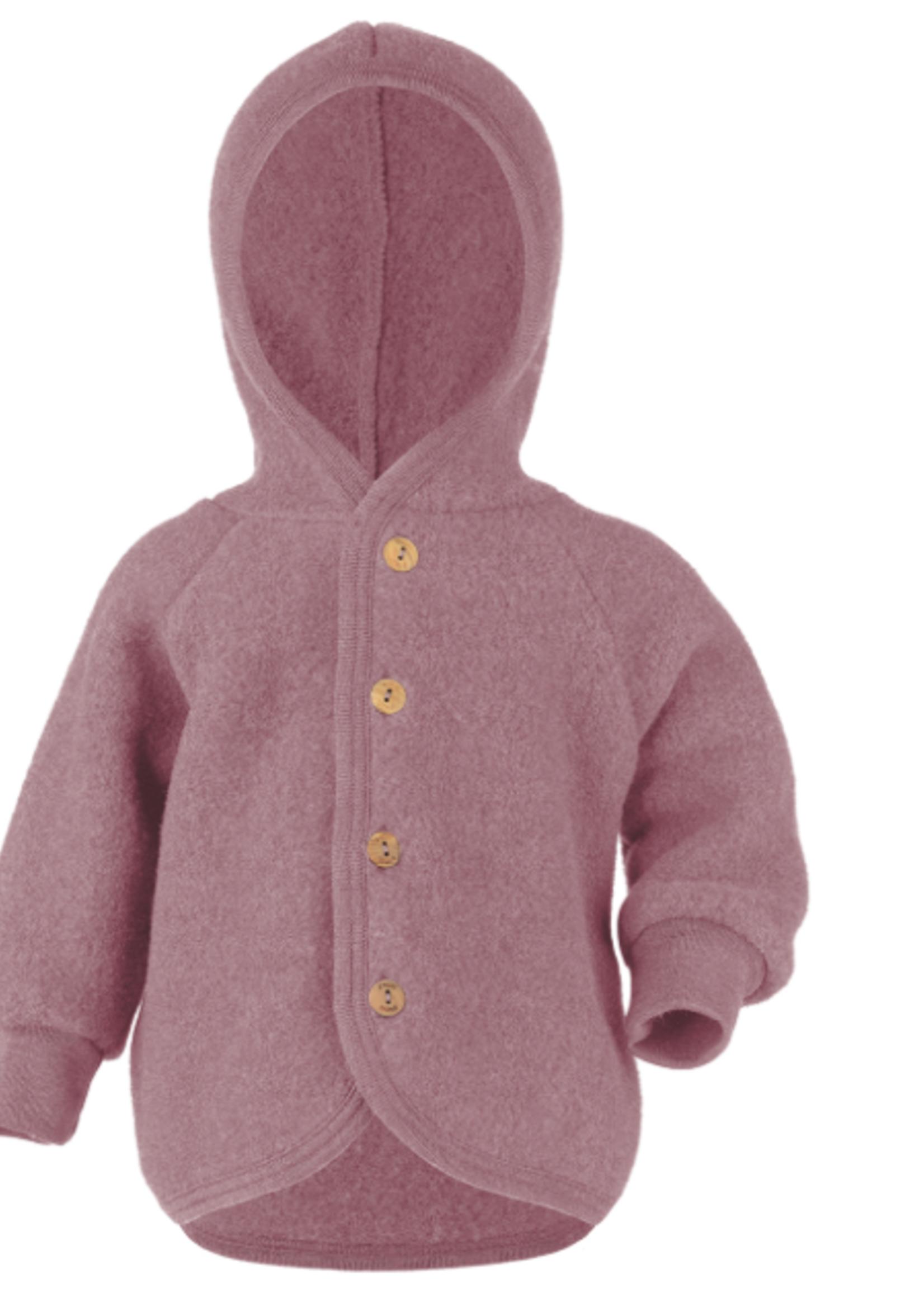 Engel Hooded Jacket - Rosenholz