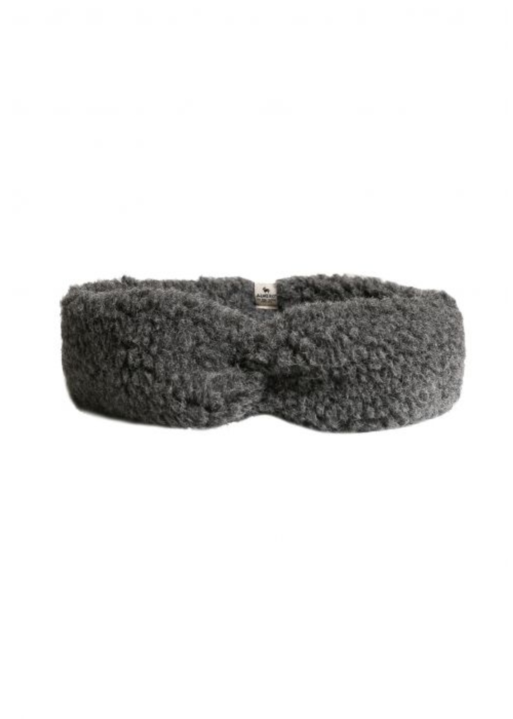 Alwero Haarband Coni - 100% Wol│Graphite