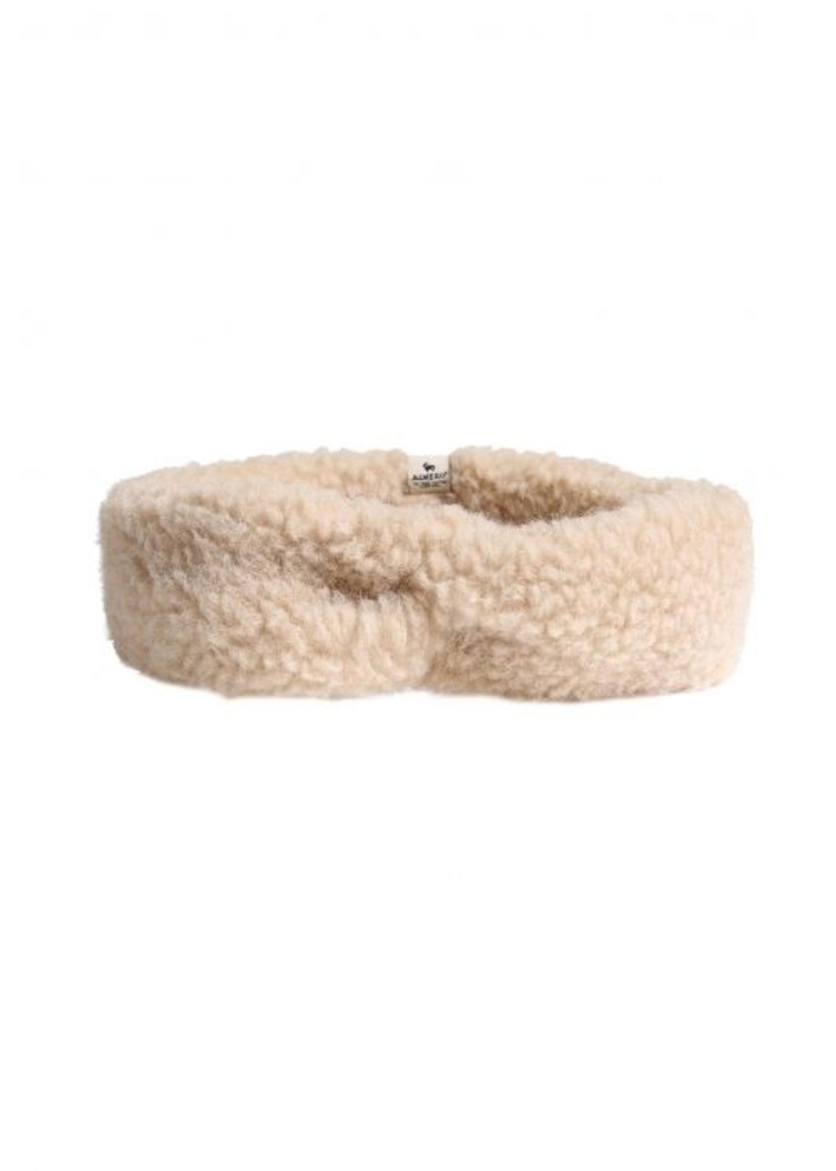 Alwero Haarband Coni - 100% Wol│Beige