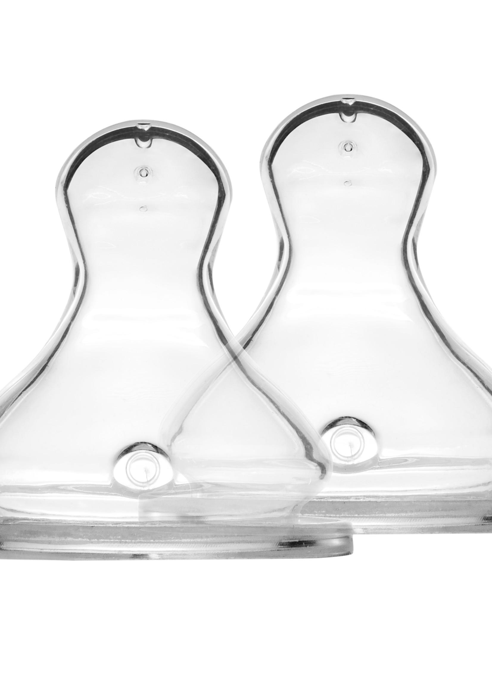 Elhée Pack of 2 Teats - Medium Flow